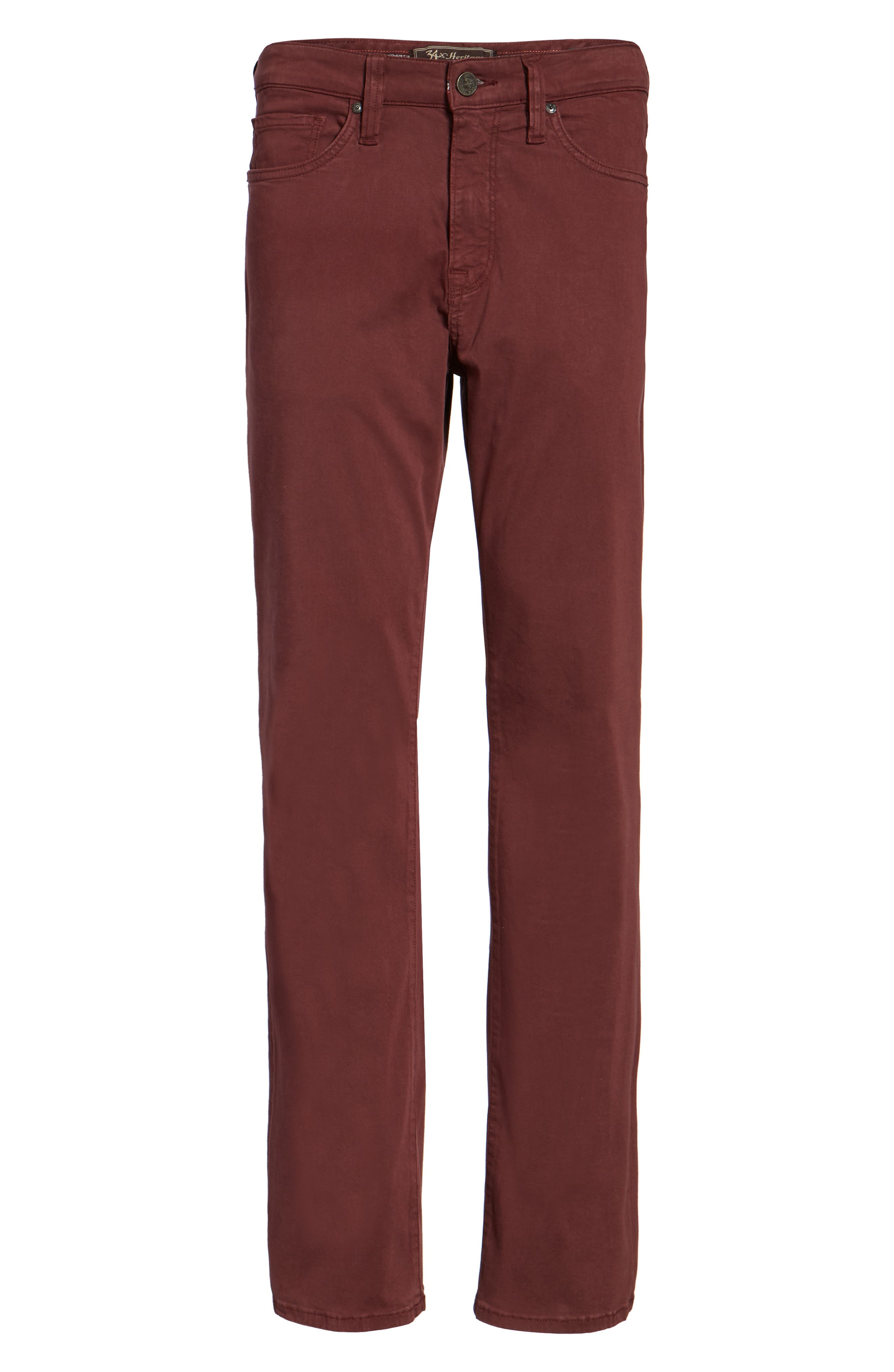 Charisma Relaxed Fit Pants,                             Alternate thumbnail 6, color,                             BORDEAUX TWILL