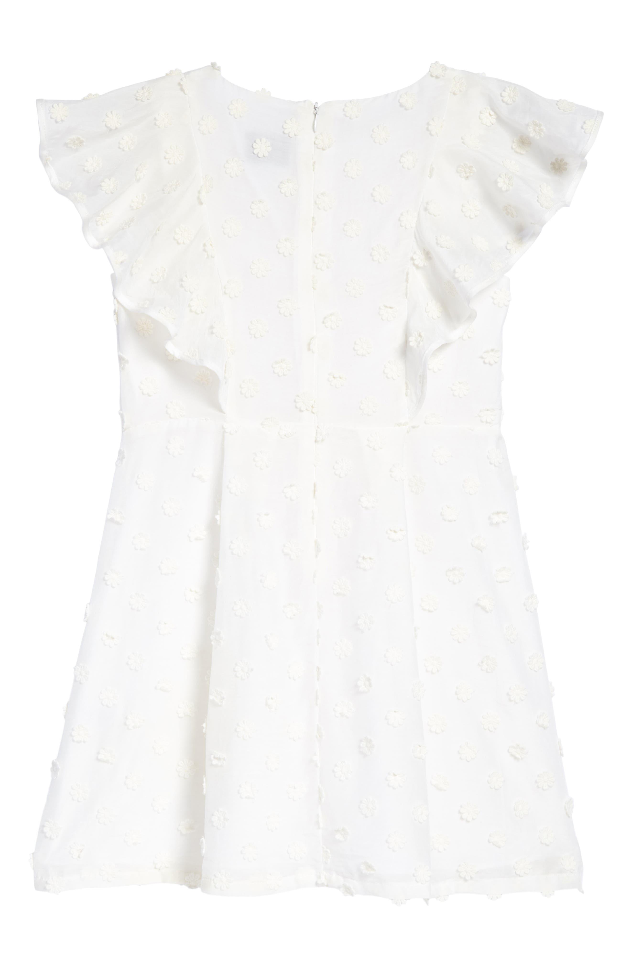 Ruffle Dress,                             Alternate thumbnail 2, color,                             150