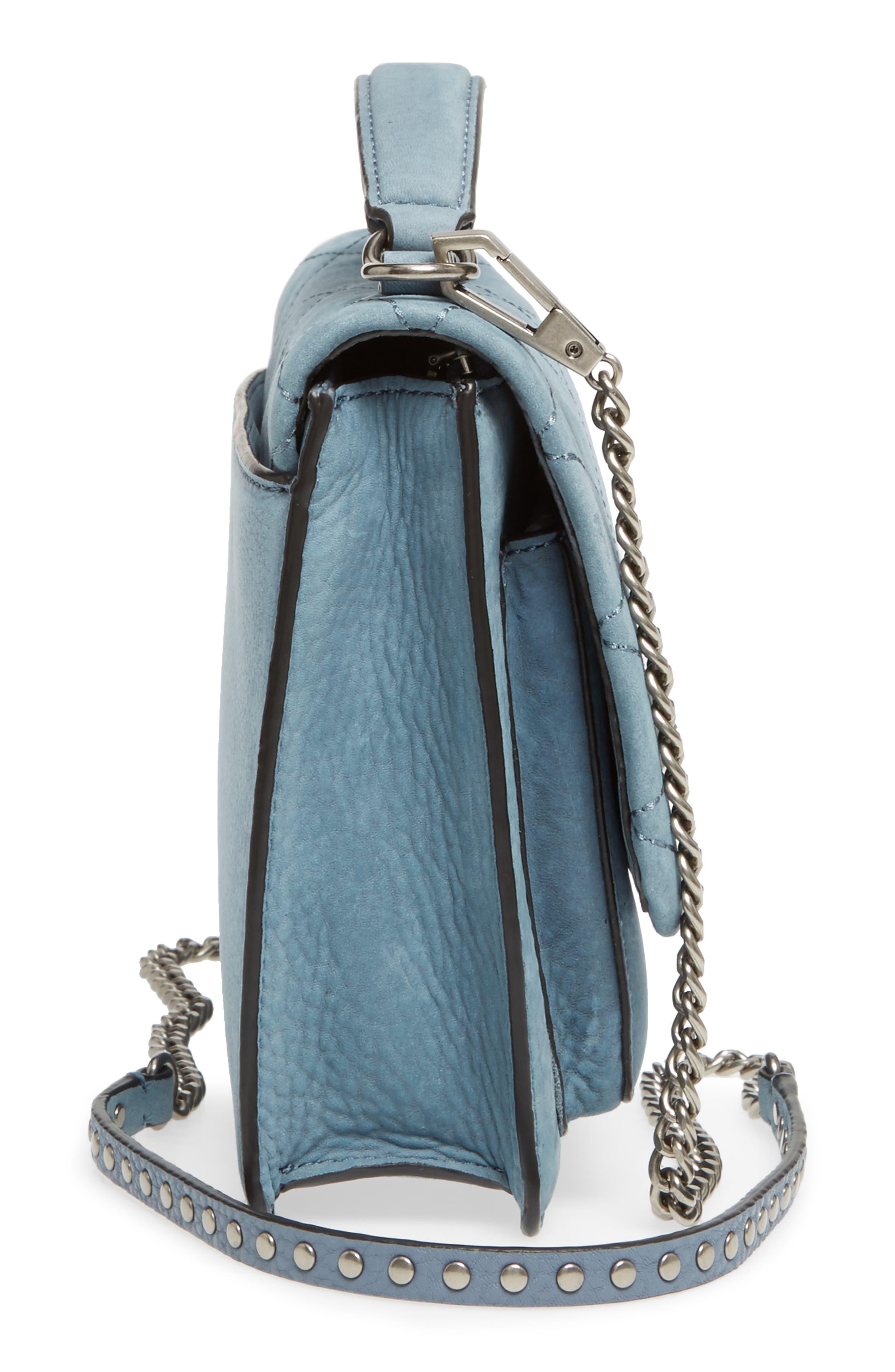 Medium Je T'aime Convertible Leather Crossbody Bag,                             Alternate thumbnail 45, color,
