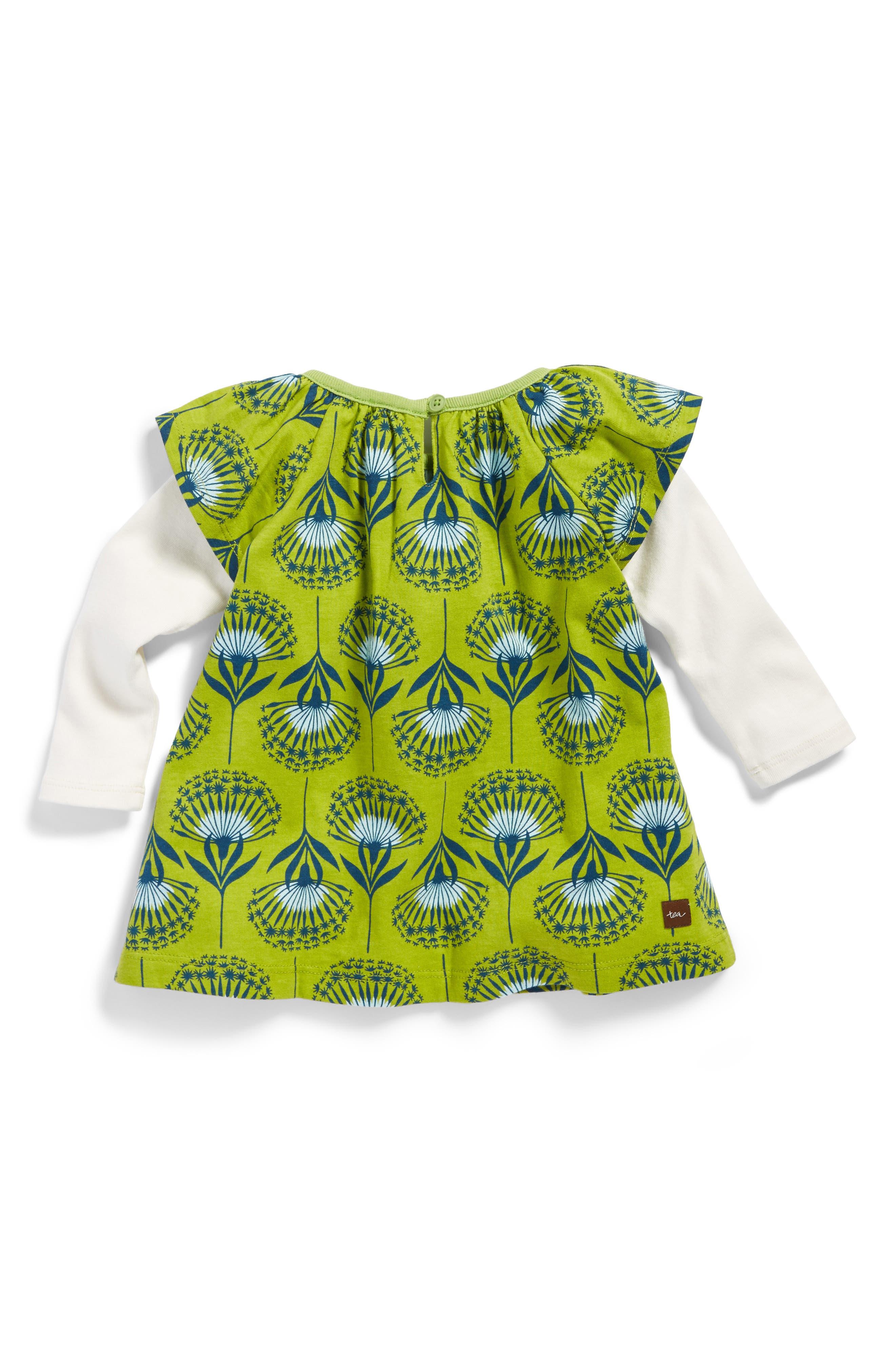 Dandelion Flutter Dress,                             Alternate thumbnail 2, color,                             341
