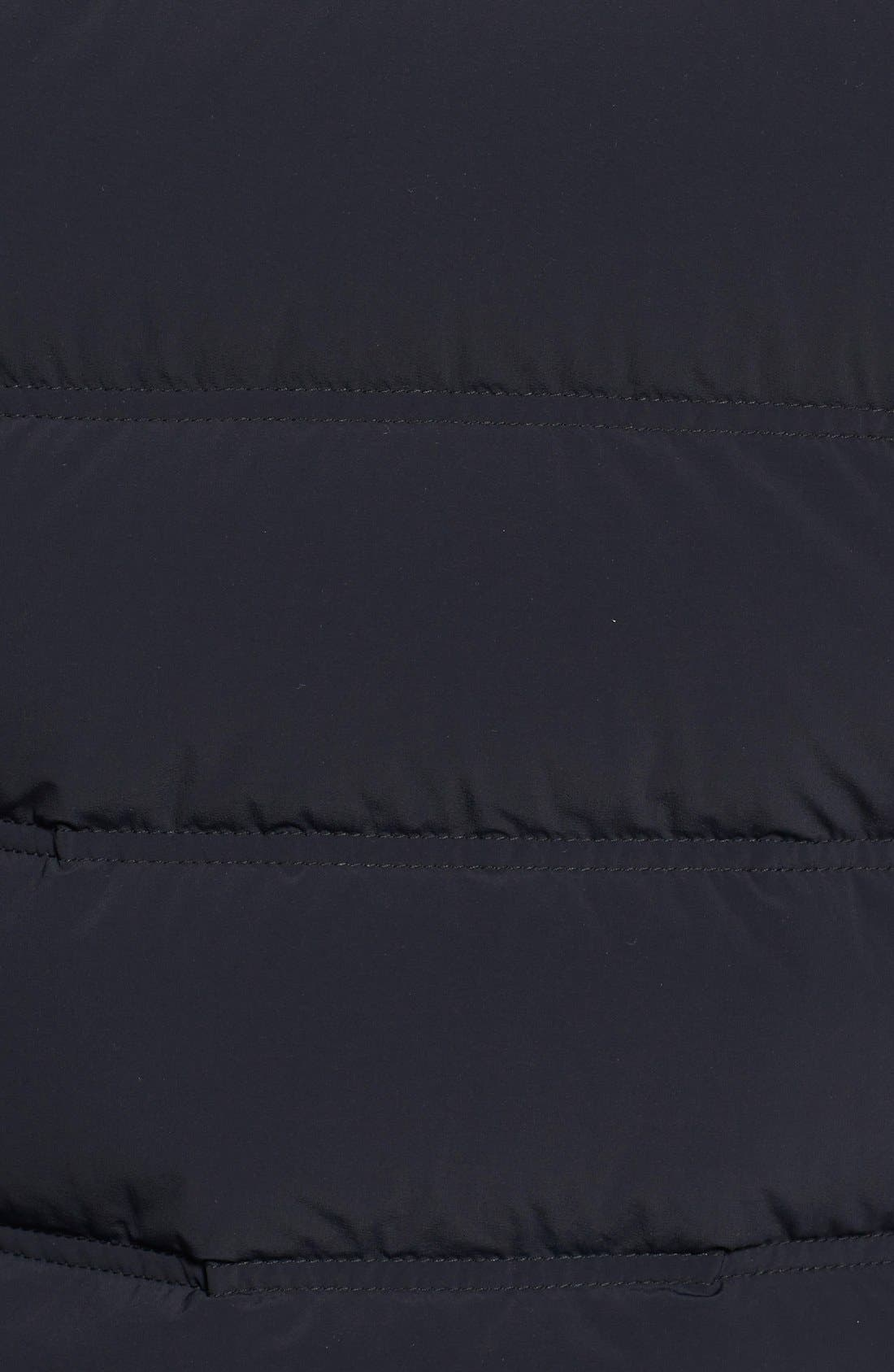 ASPESI,                             'Elastico' Trim Fit Hooded Puffer Jacket,                             Alternate thumbnail 2, color,                             001