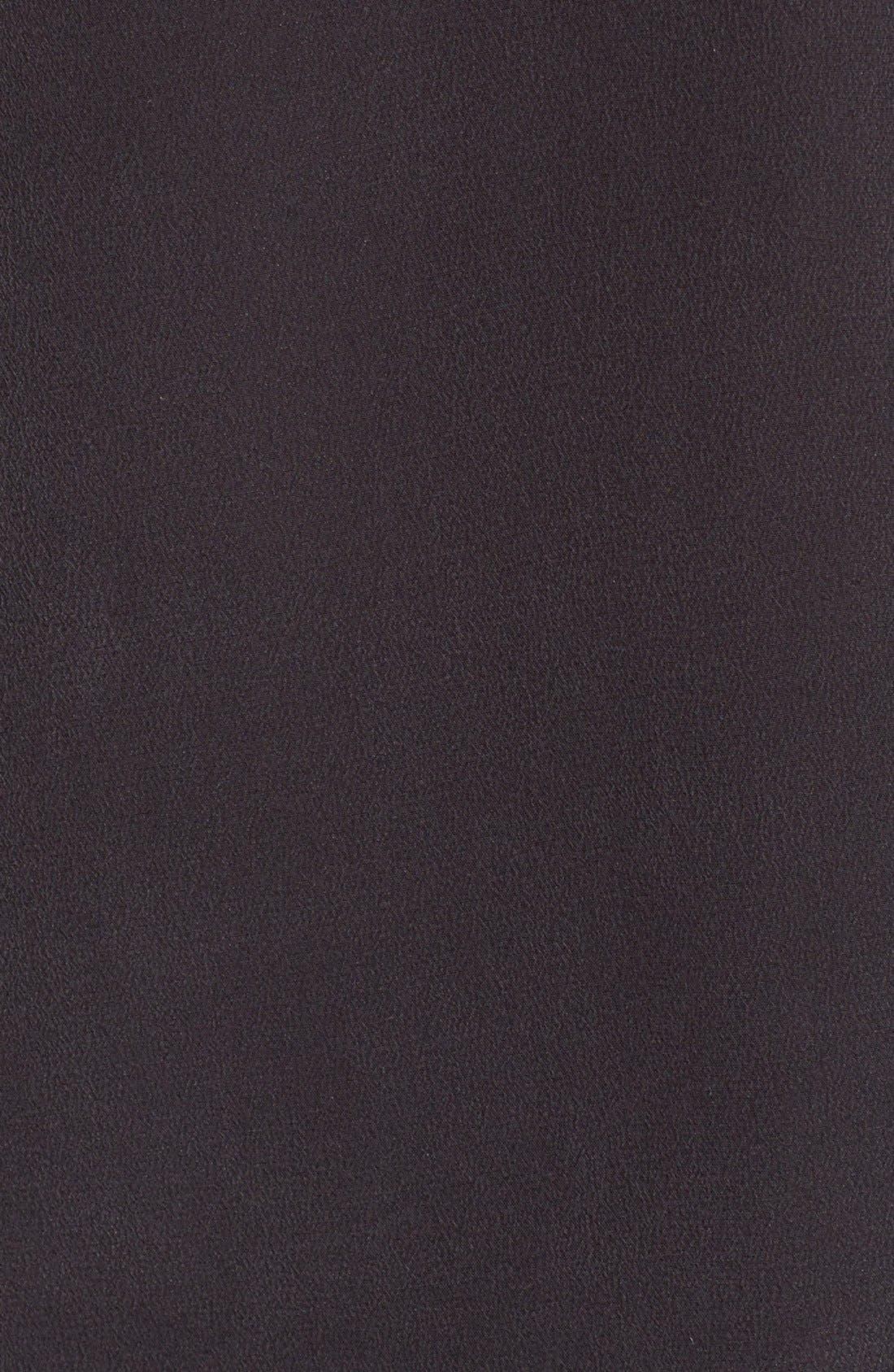'Slim Signature' Sleeveless Silk Shirt,                             Alternate thumbnail 190, color,
