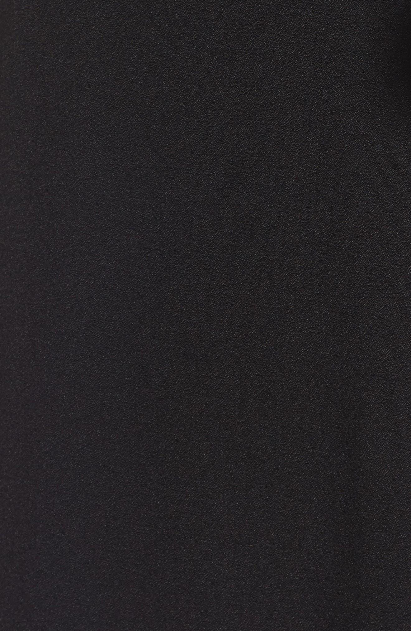 Amelia Ruffle Wrap Skirt,                             Alternate thumbnail 5, color,                             001
