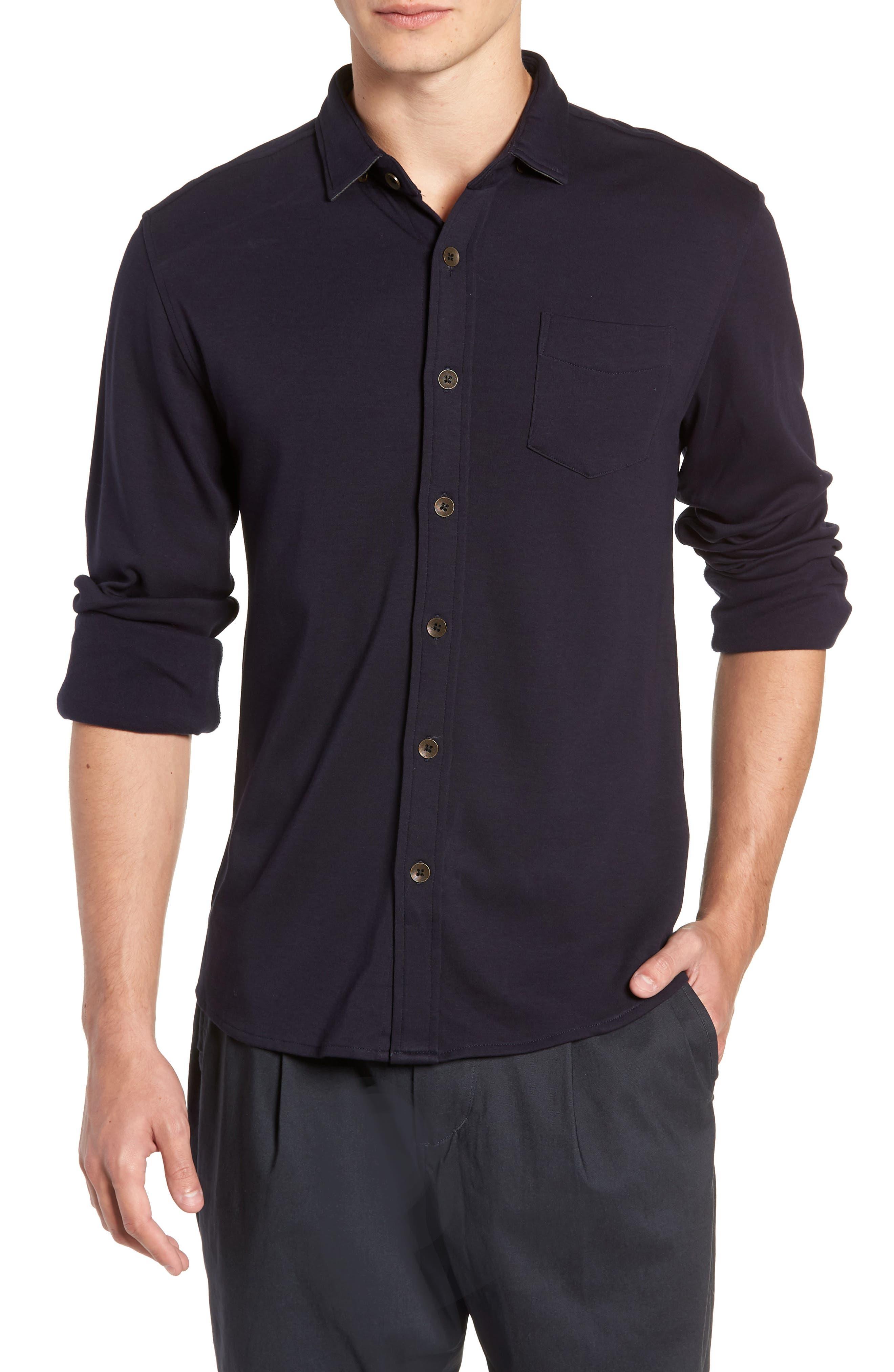 Shirt Killer Woven Shirt,                             Main thumbnail 1, color,                             NAVY