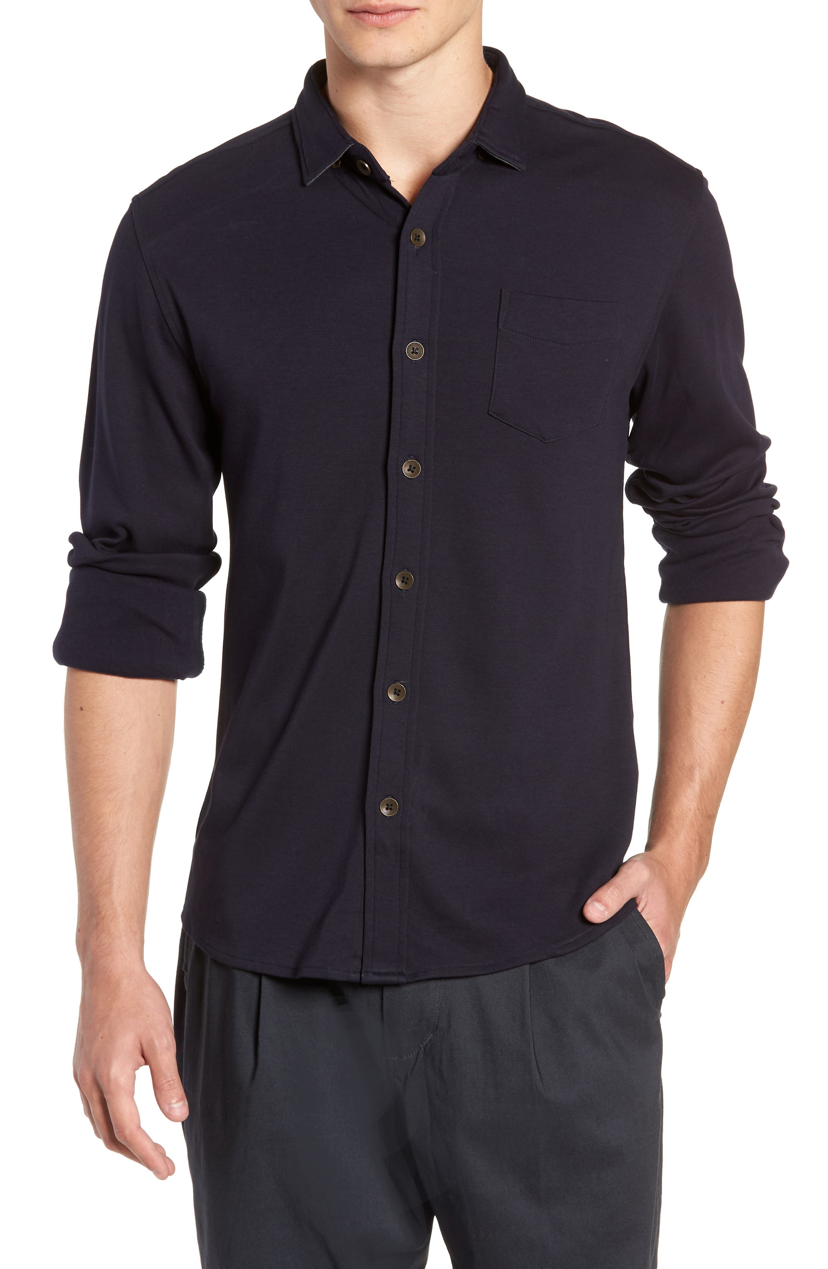 Shirt Killer Woven Shirt,                         Main,                         color, NAVY
