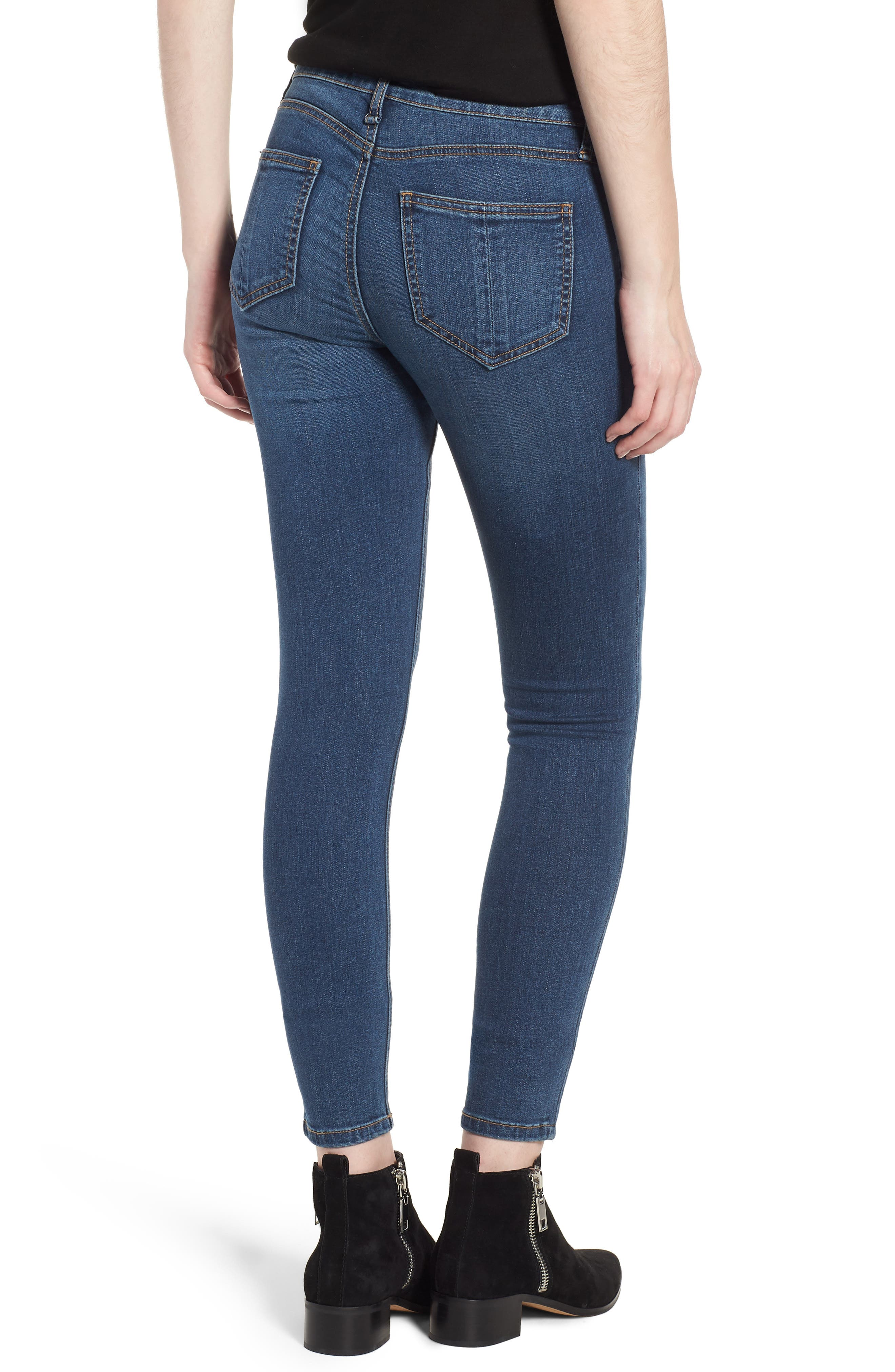 Skinny Jeans,                             Alternate thumbnail 2, color,