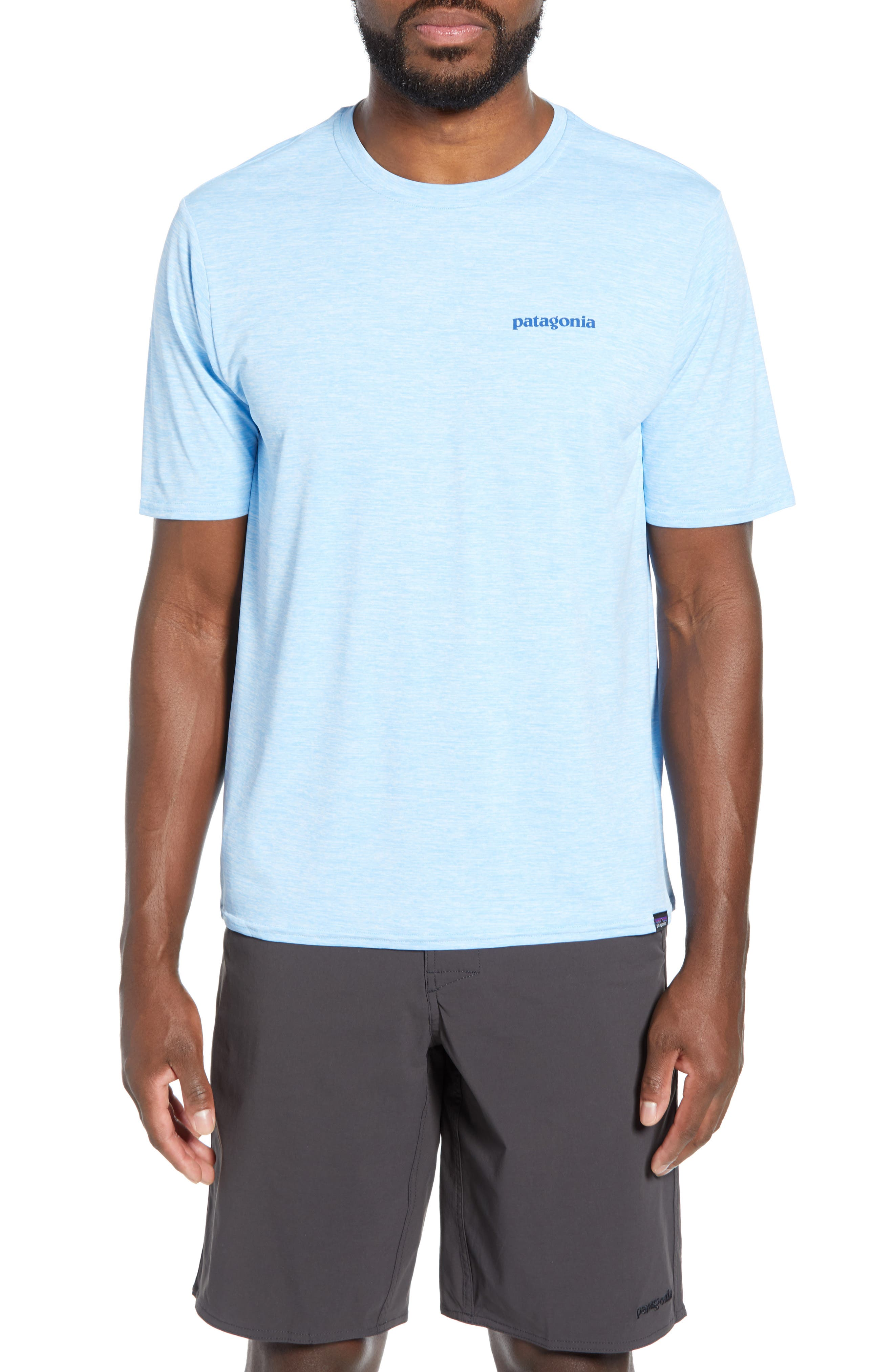 Patagonia Capilene Cool Daily Graphic T-Shirt, Blue