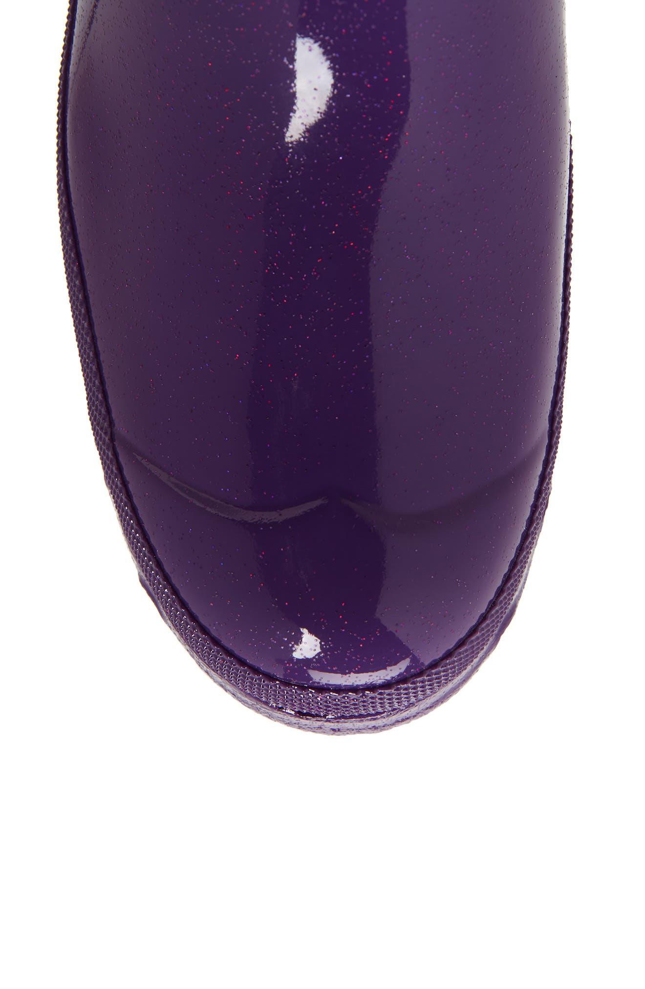 Original High Gloss Boot,                             Alternate thumbnail 6, color,                             ACID PURPLE