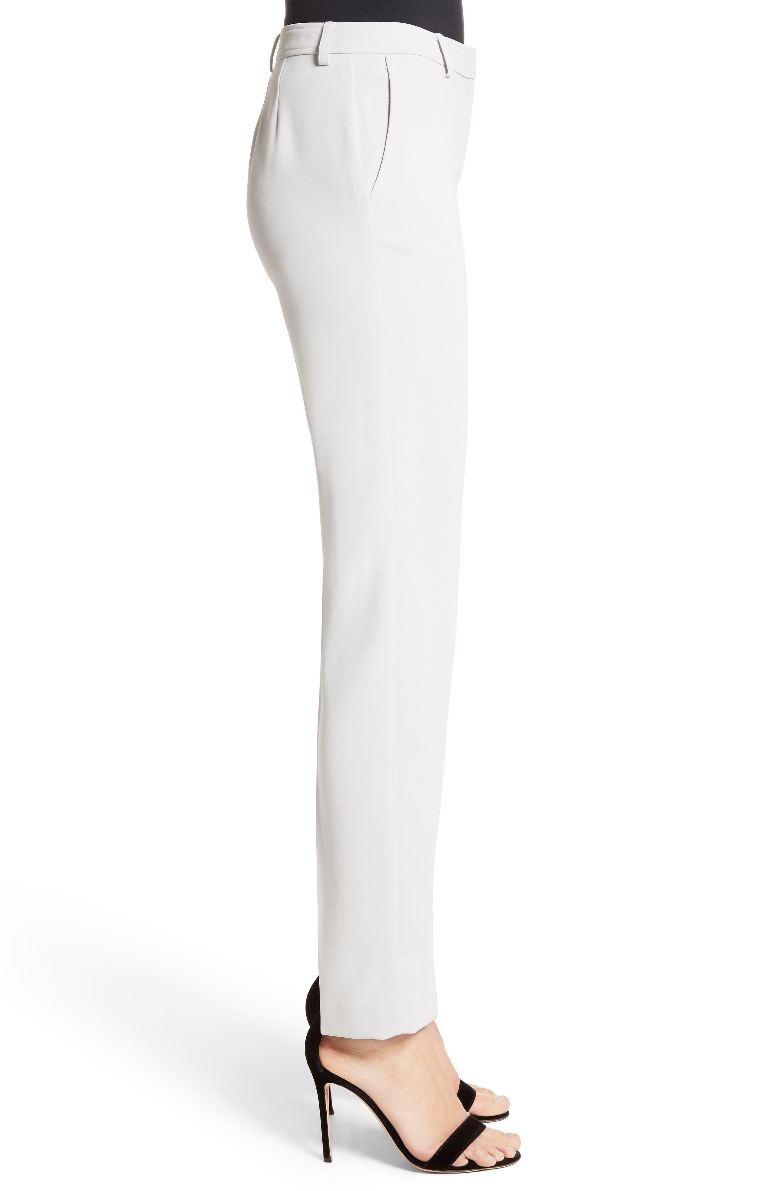 Jennifer Stretch Cady Pants,                             Alternate thumbnail 3, color,                             050