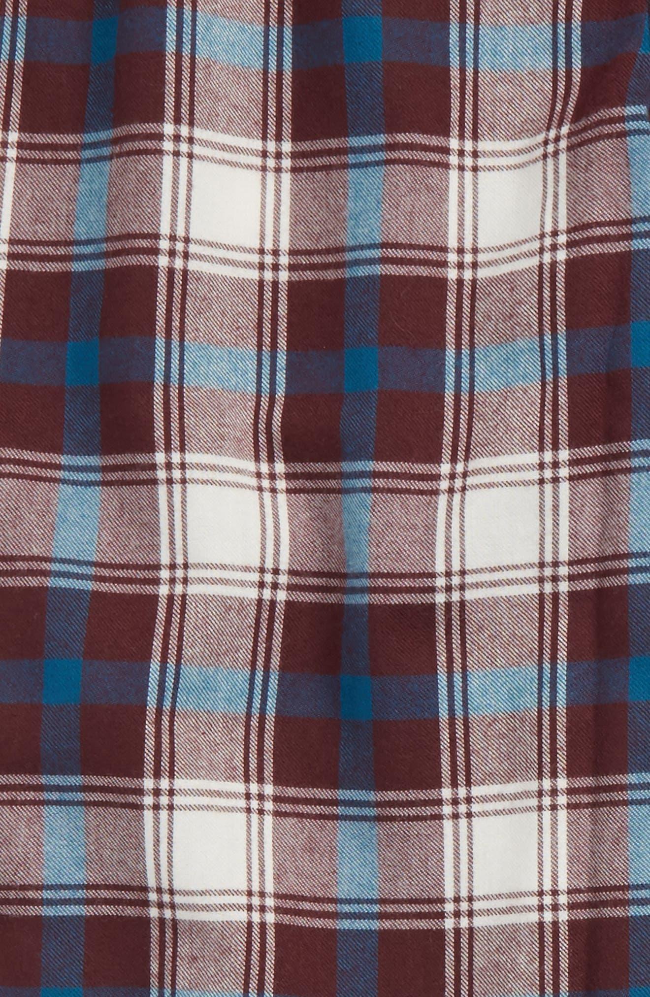 Plaid Flannel Pants,                             Main thumbnail 12, color,