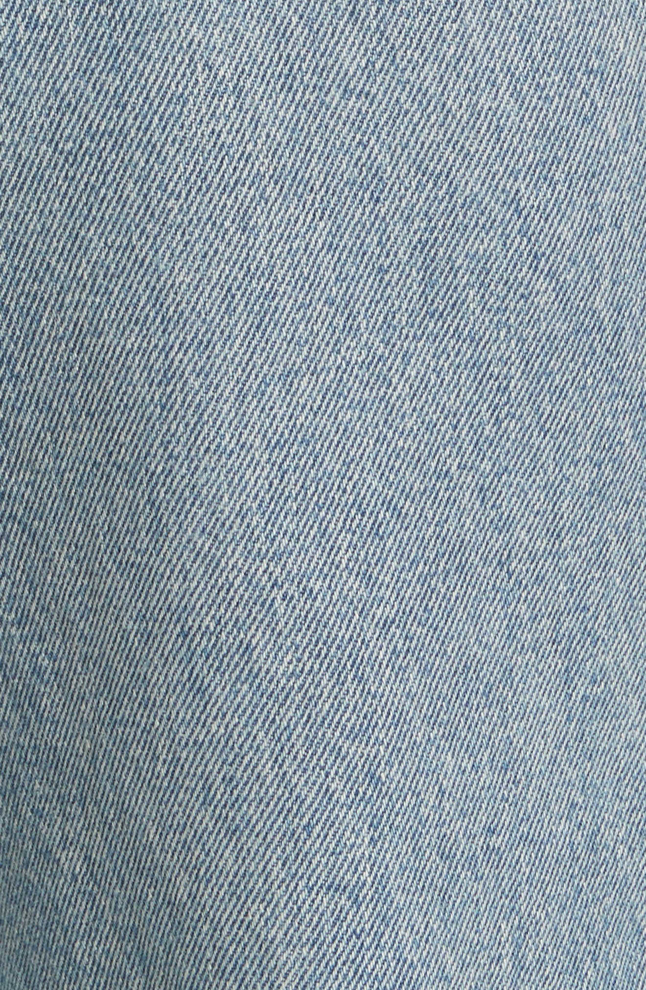 RE/DONE,                             High Waist Stove Pipe Jeans,                             Alternate thumbnail 5, color,                             450