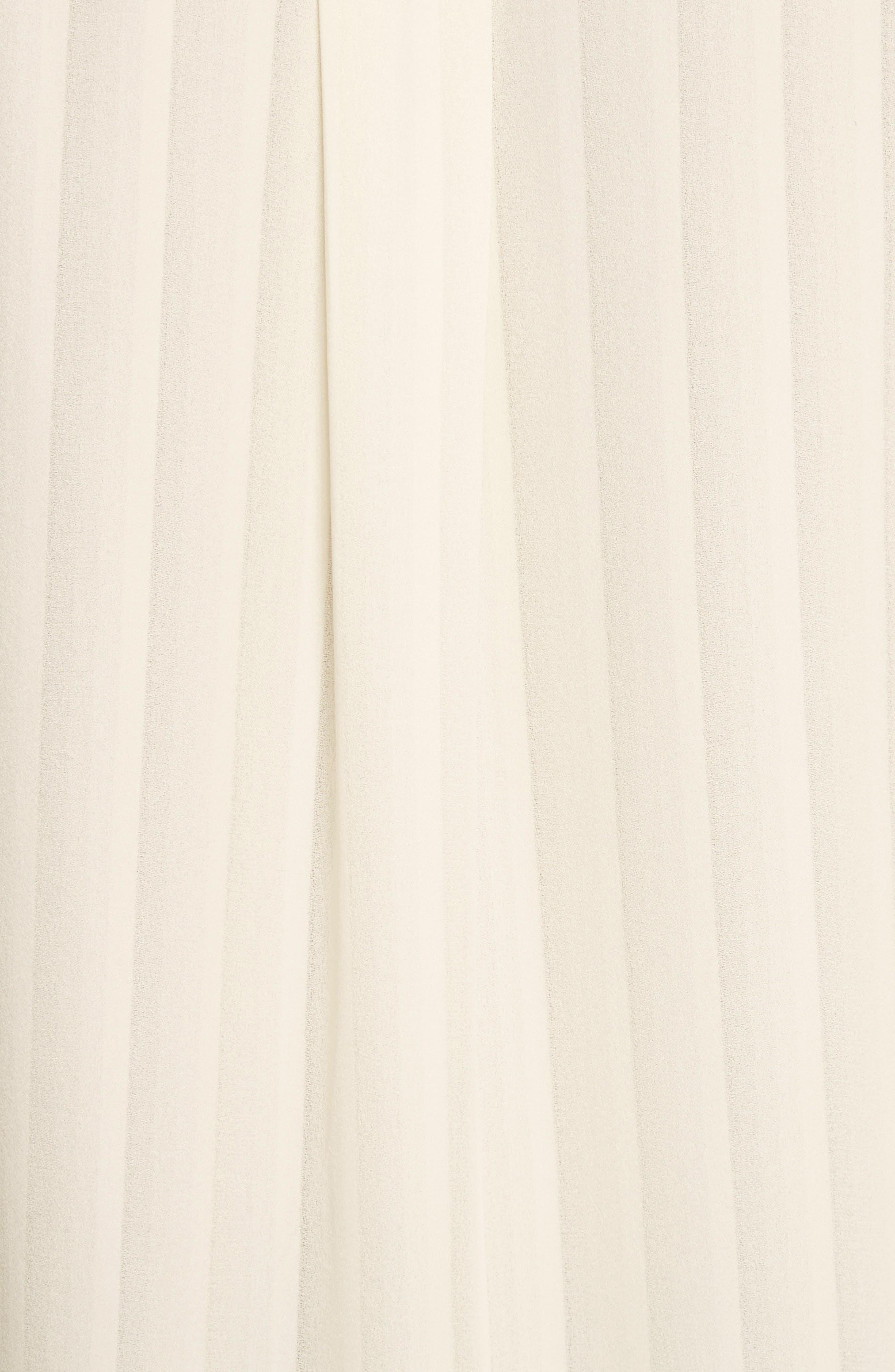 Emma Bow Neck Silk Blouse,                             Alternate thumbnail 10, color,