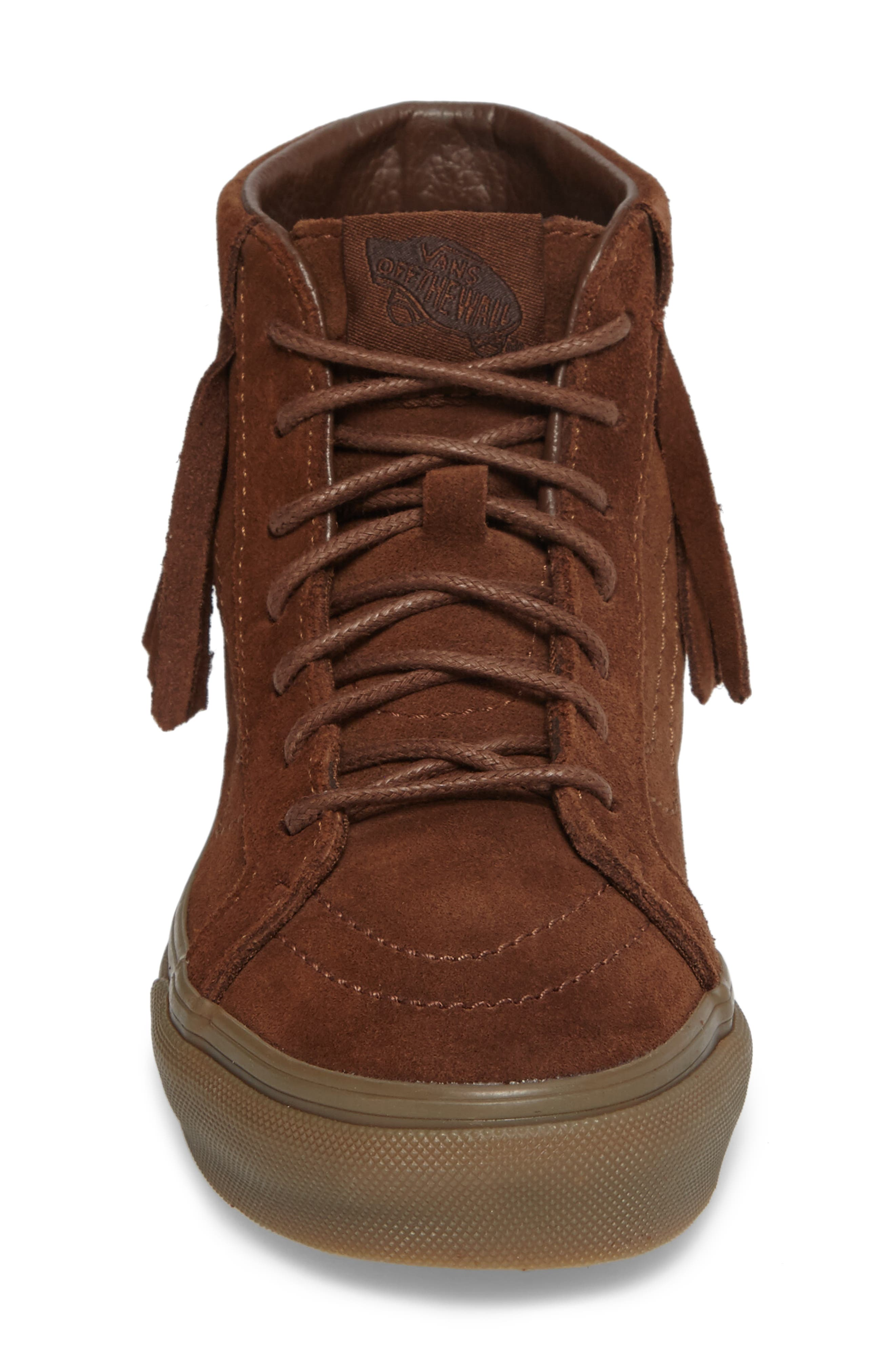 SK8-Hi Moc Sneaker,                             Alternate thumbnail 4, color,                             200