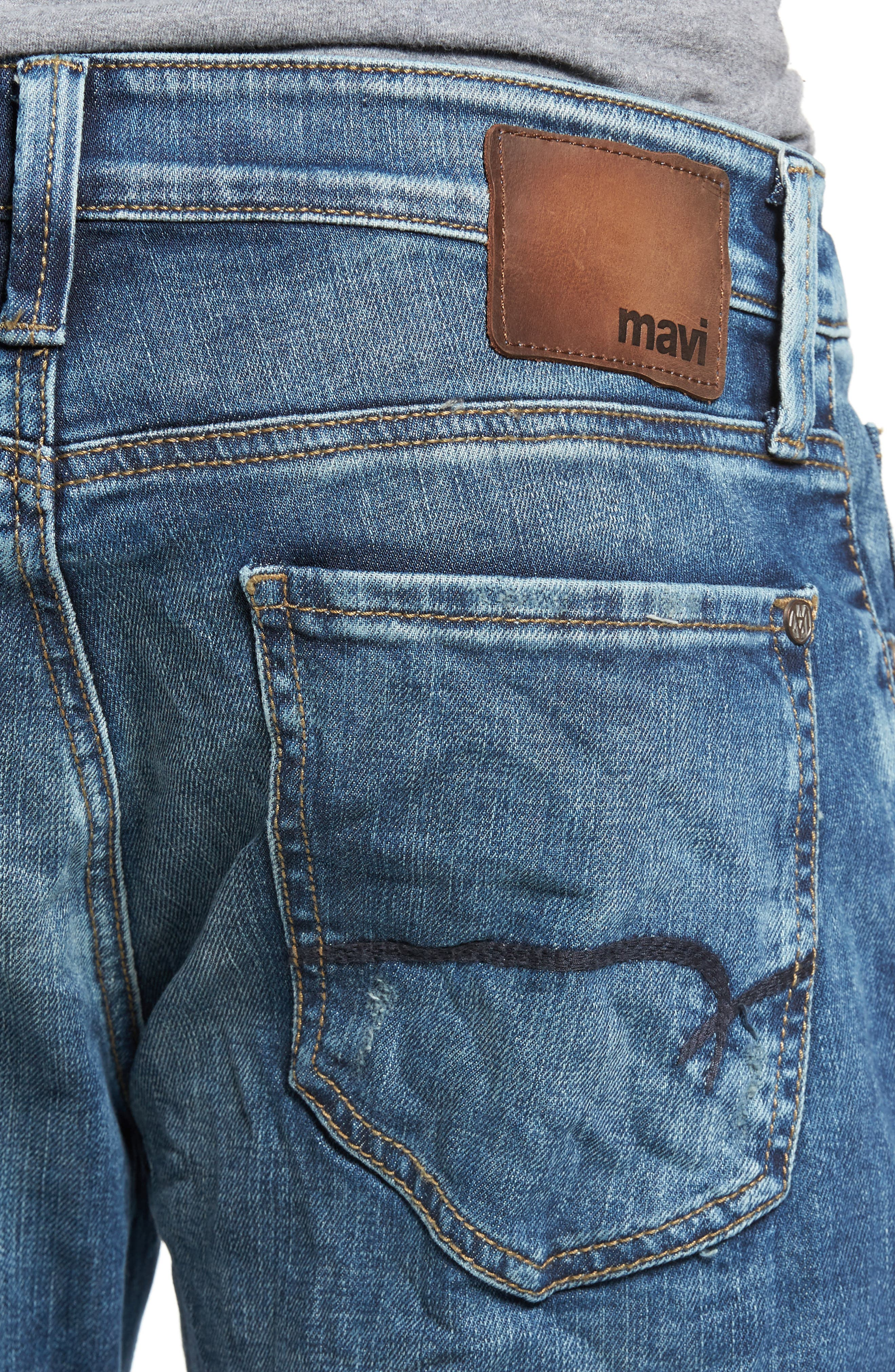 Jake Easy Slim Fit Jeans,                             Alternate thumbnail 4, color,                             420