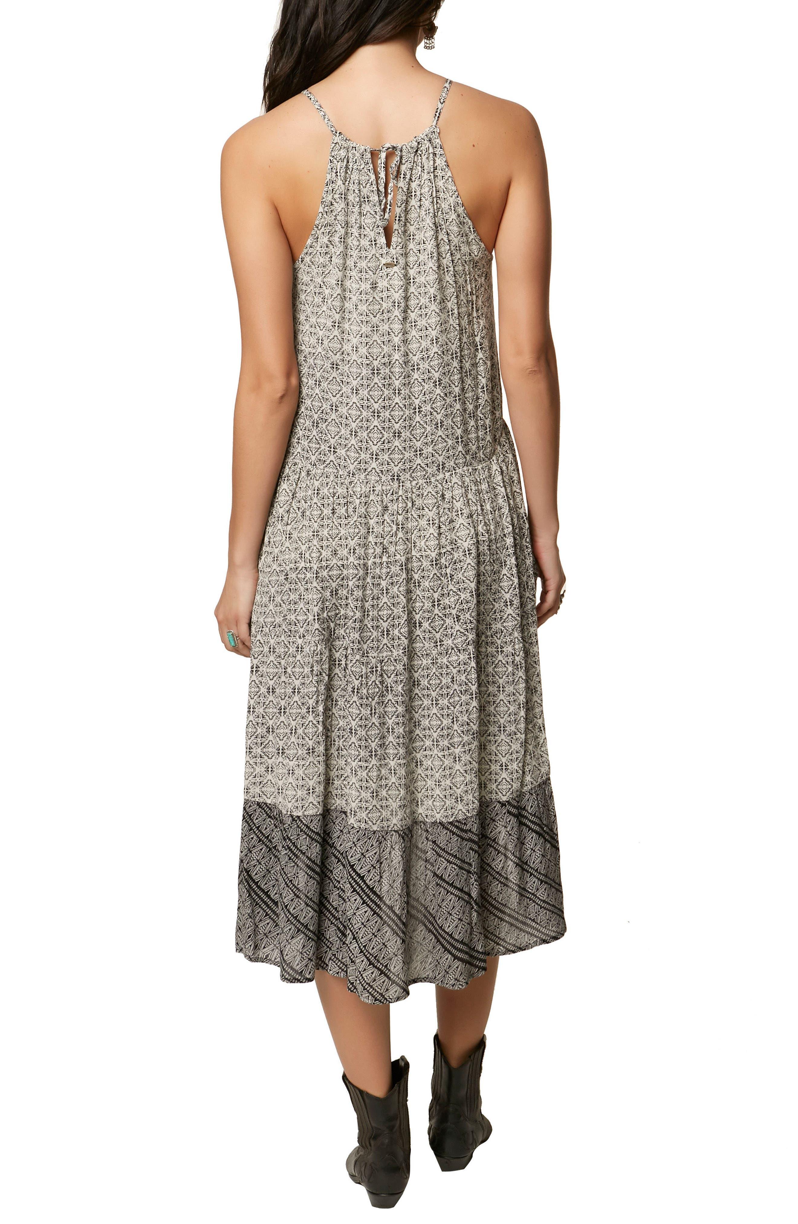 Carmela Halter Midi Dress,                             Alternate thumbnail 2, color,                             105
