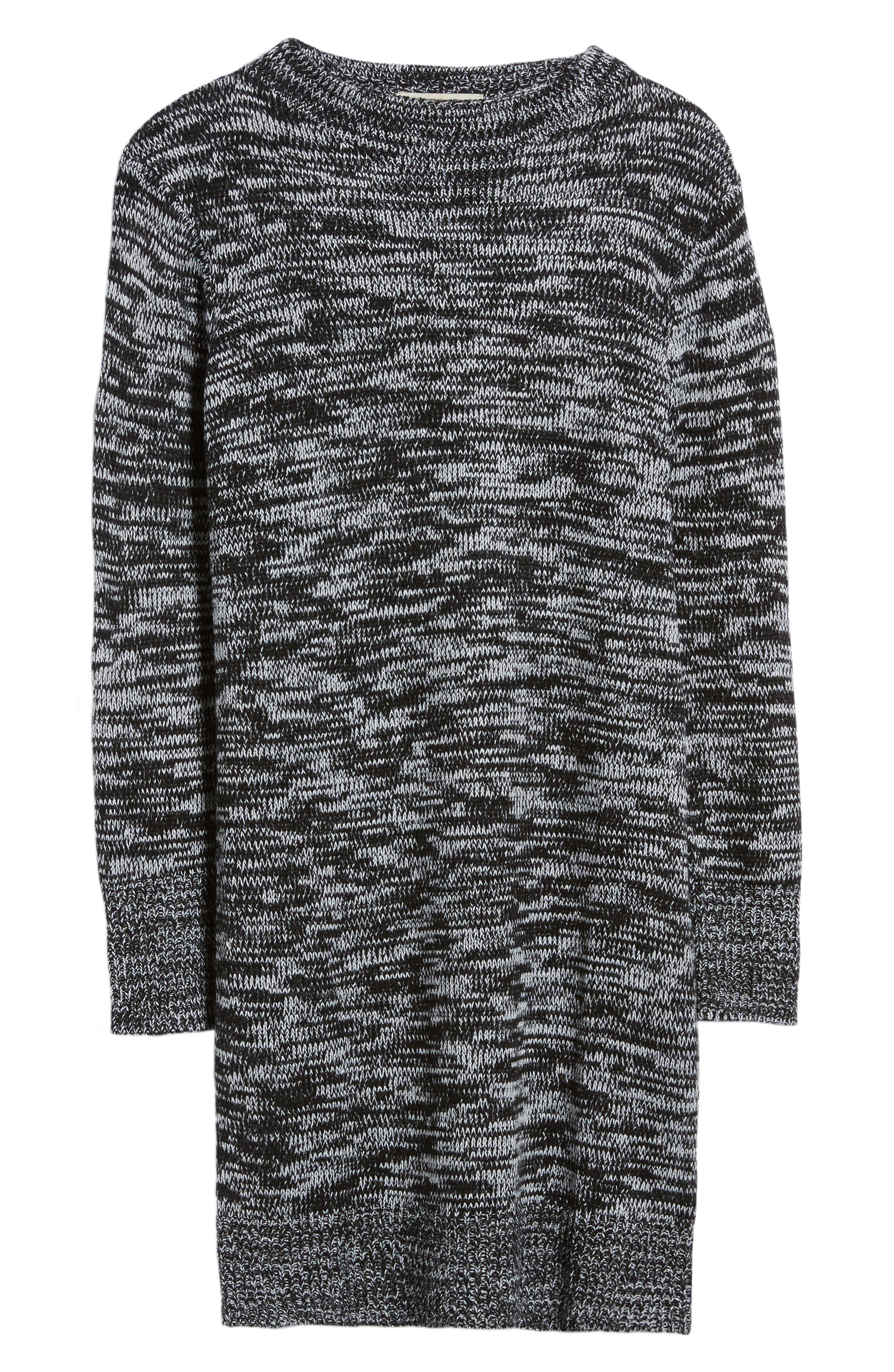 Mock Neck Sweater,                             Alternate thumbnail 6, color,                             001
