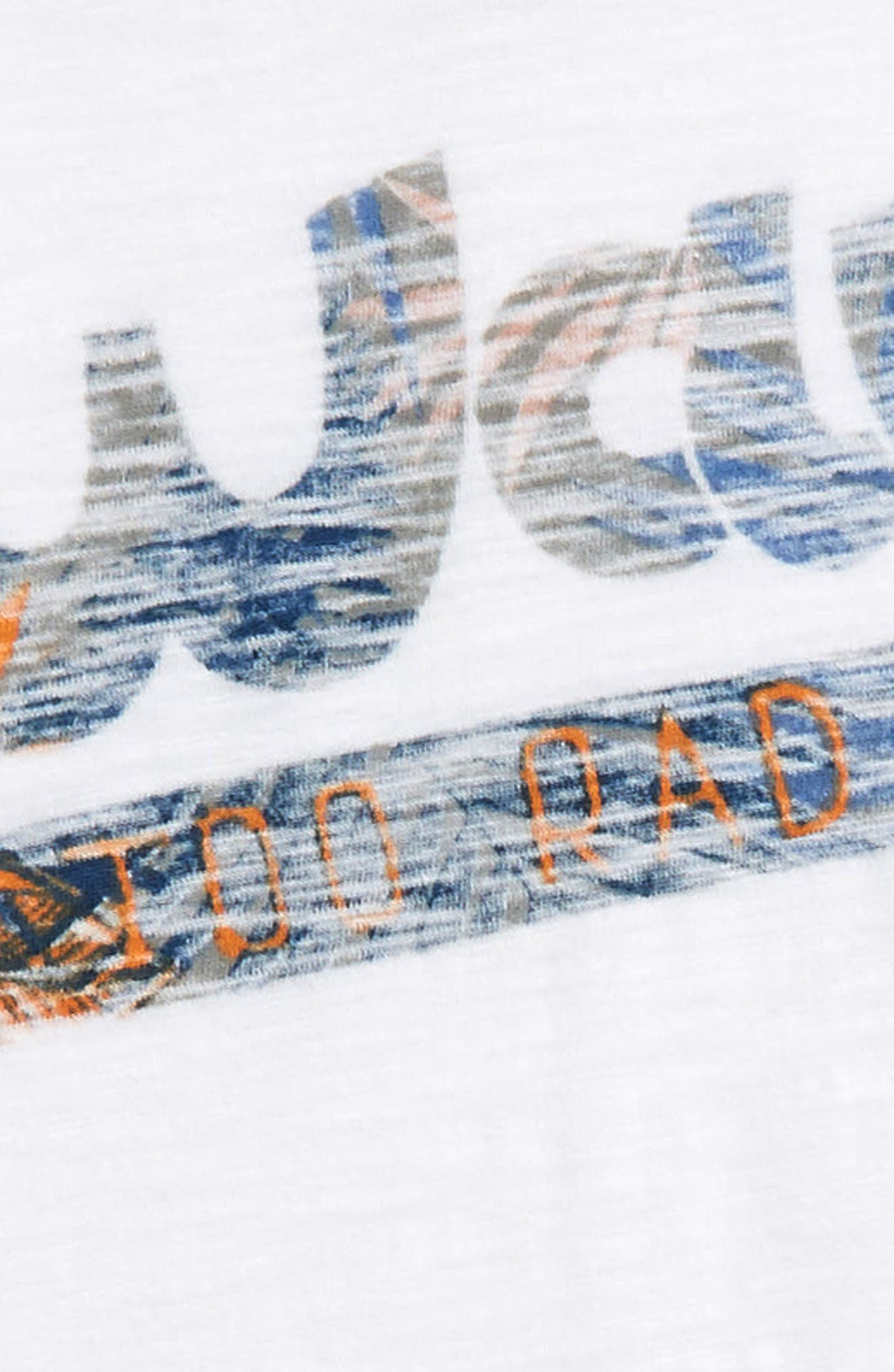 Palm Reverse Print T-Shirt,                             Alternate thumbnail 2, color,                             100