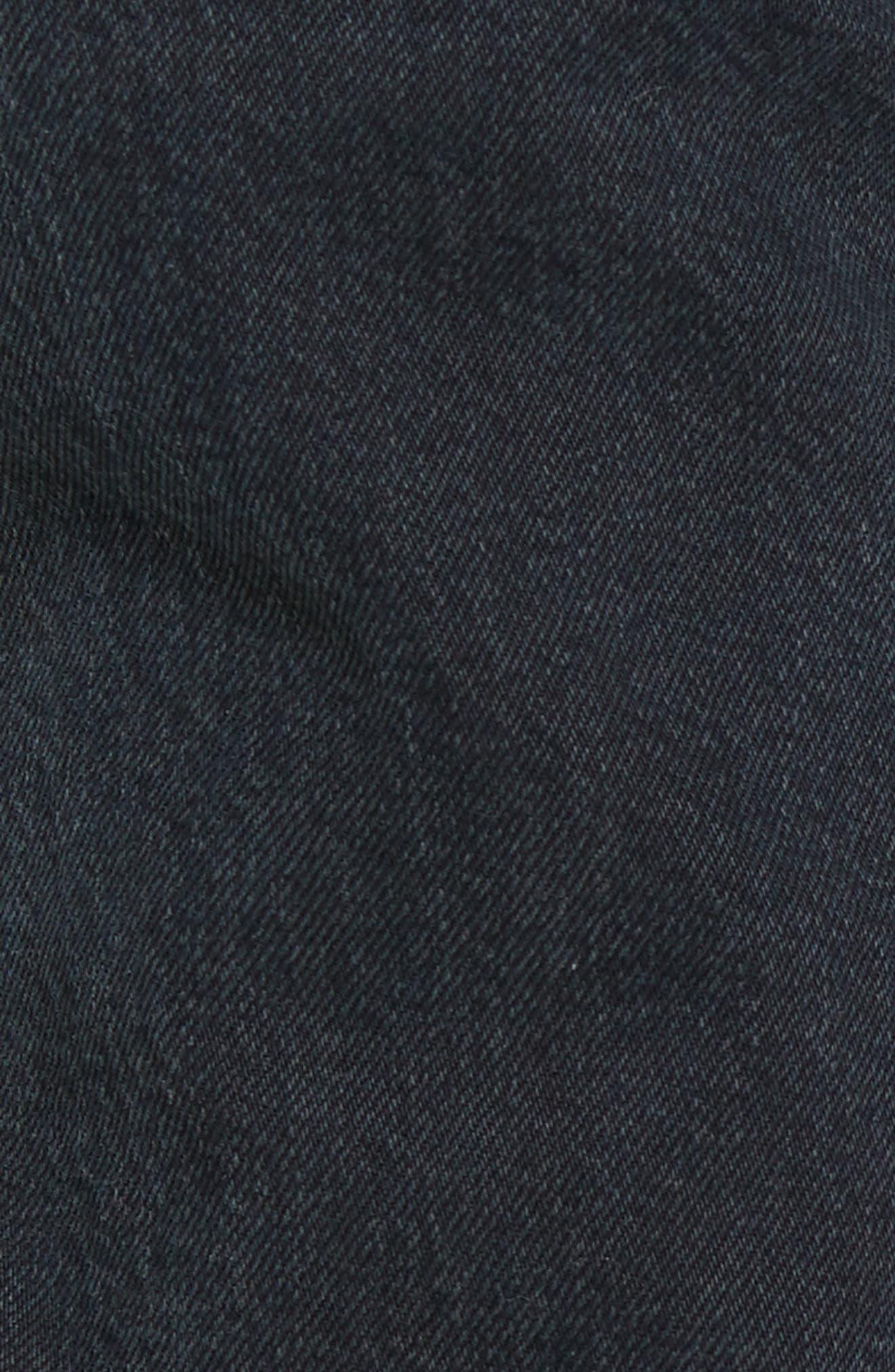 Patti High Rise Straight Leg Jeans,                             Alternate thumbnail 5, color,                             002