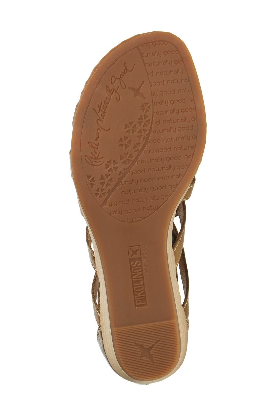 'Alcudia' Lace-Up Sandal,                             Alternate thumbnail 12, color,