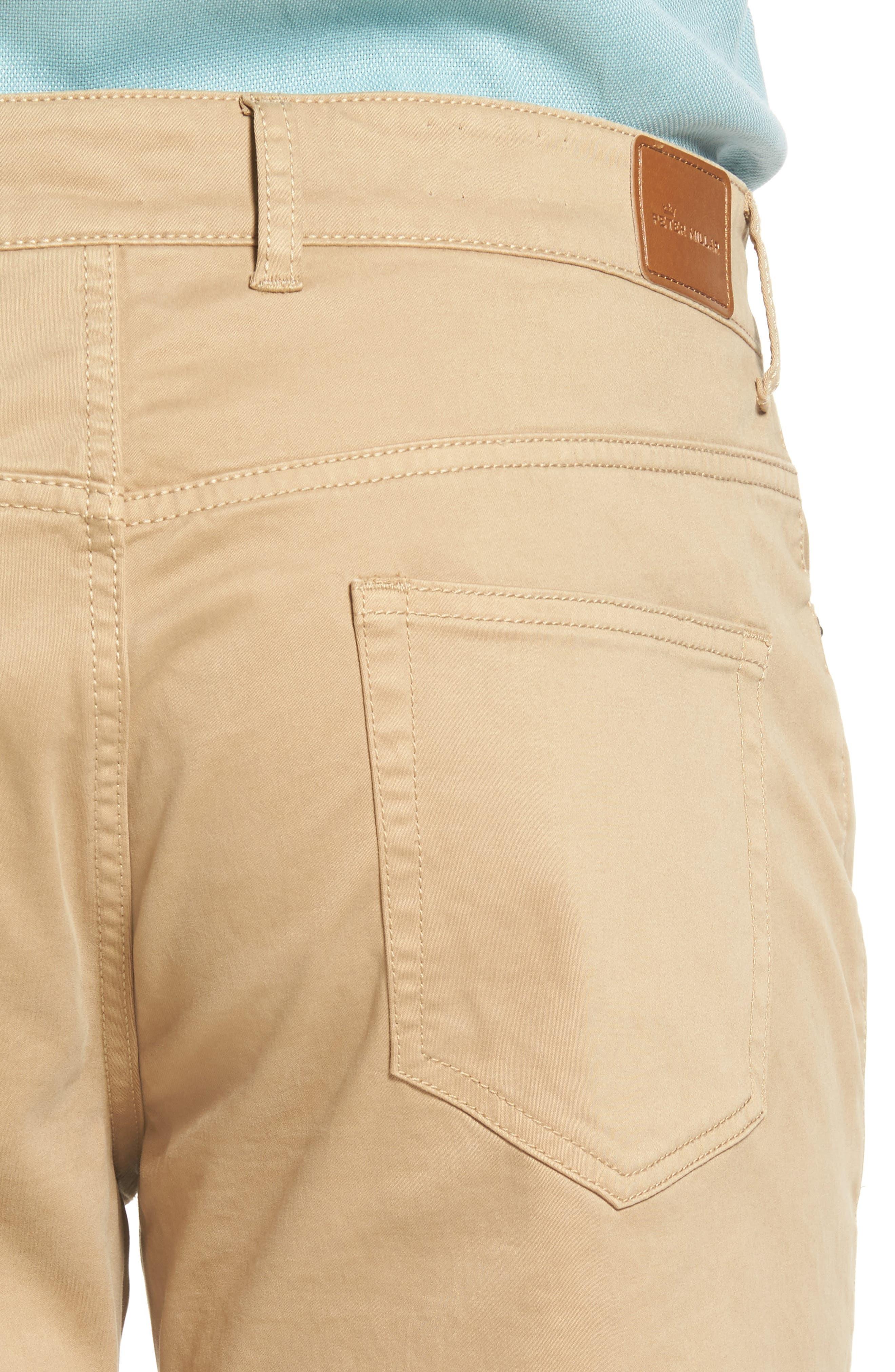 Stretch Sateen Five-Pocket Pants,                             Alternate thumbnail 14, color,