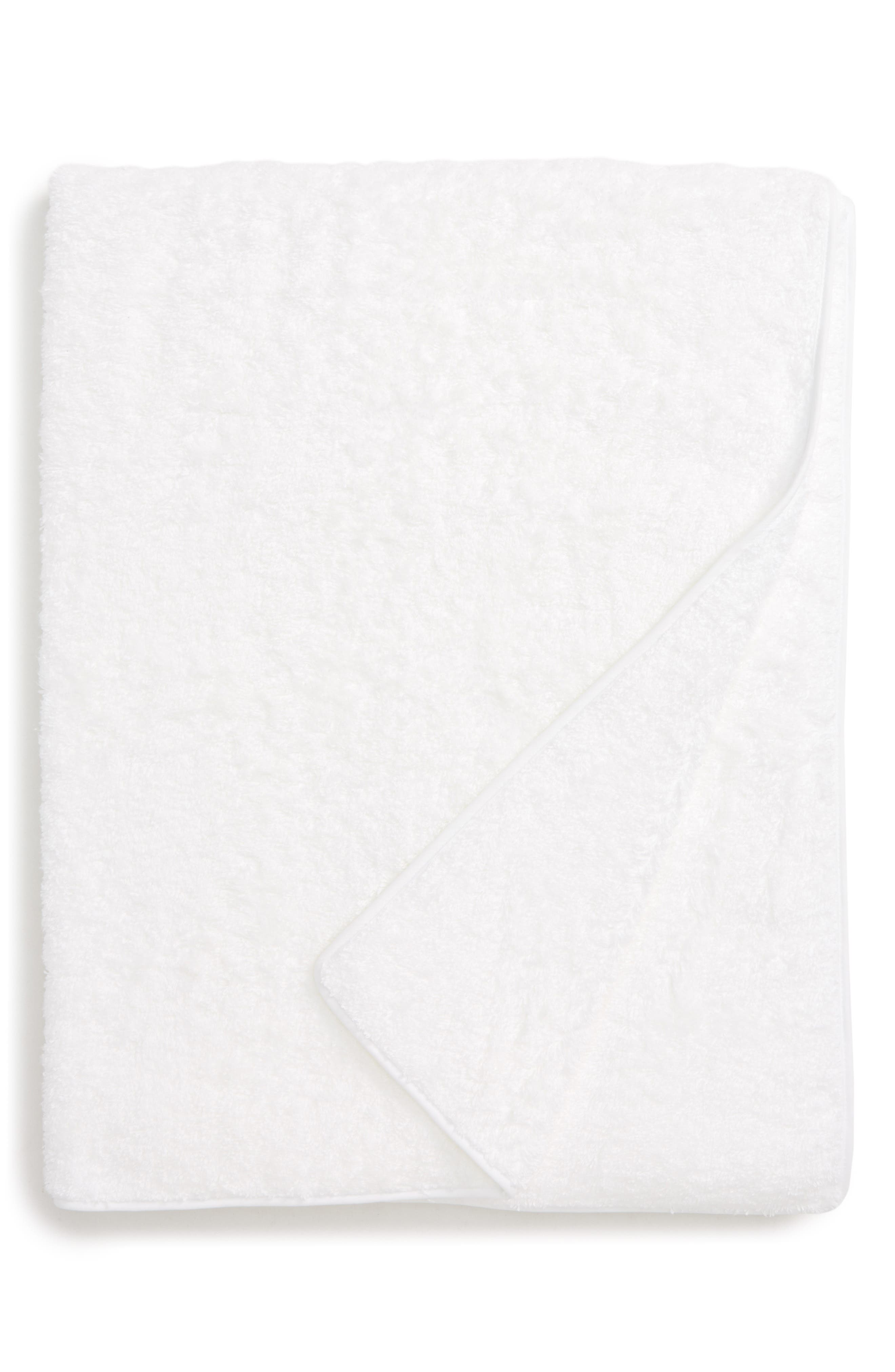 Cairo Spa Towel,                             Main thumbnail 1, color,                             WHITE
