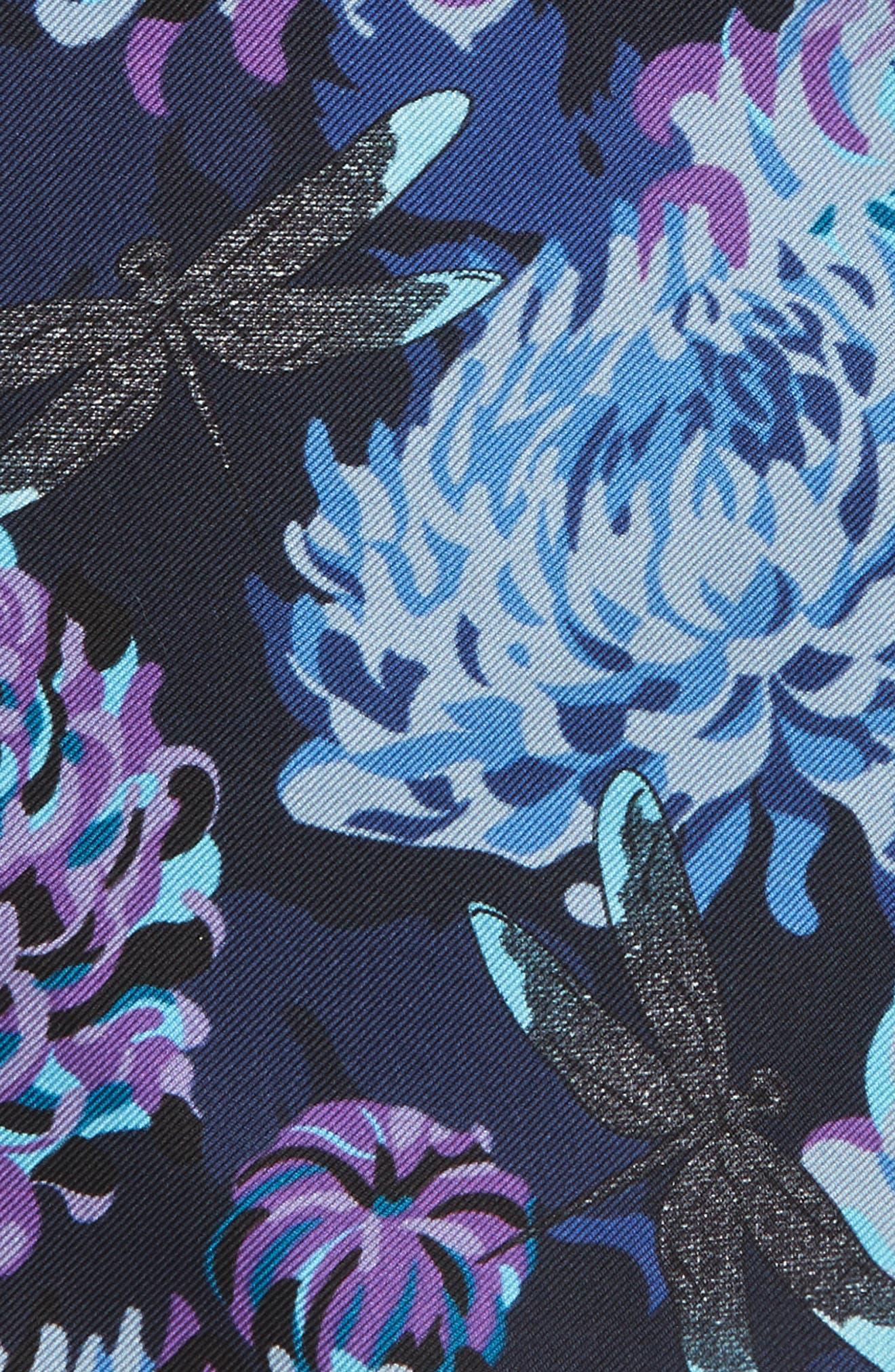 Crane Silk Pocket Square,                             Alternate thumbnail 3, color,                             400