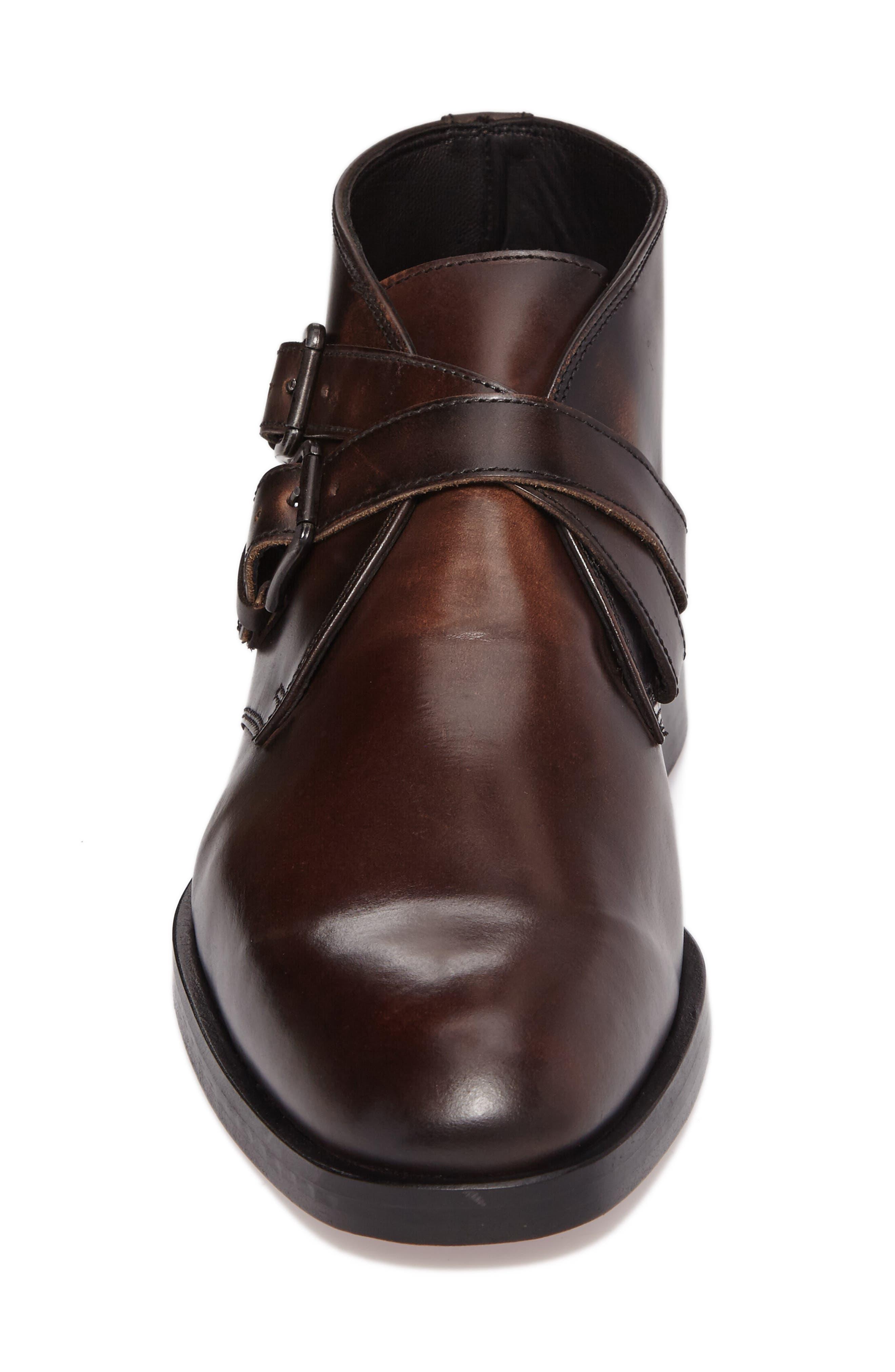 Donald J Pliner Zigor Double Monk Strap Boot,                             Alternate thumbnail 4, color,                             200