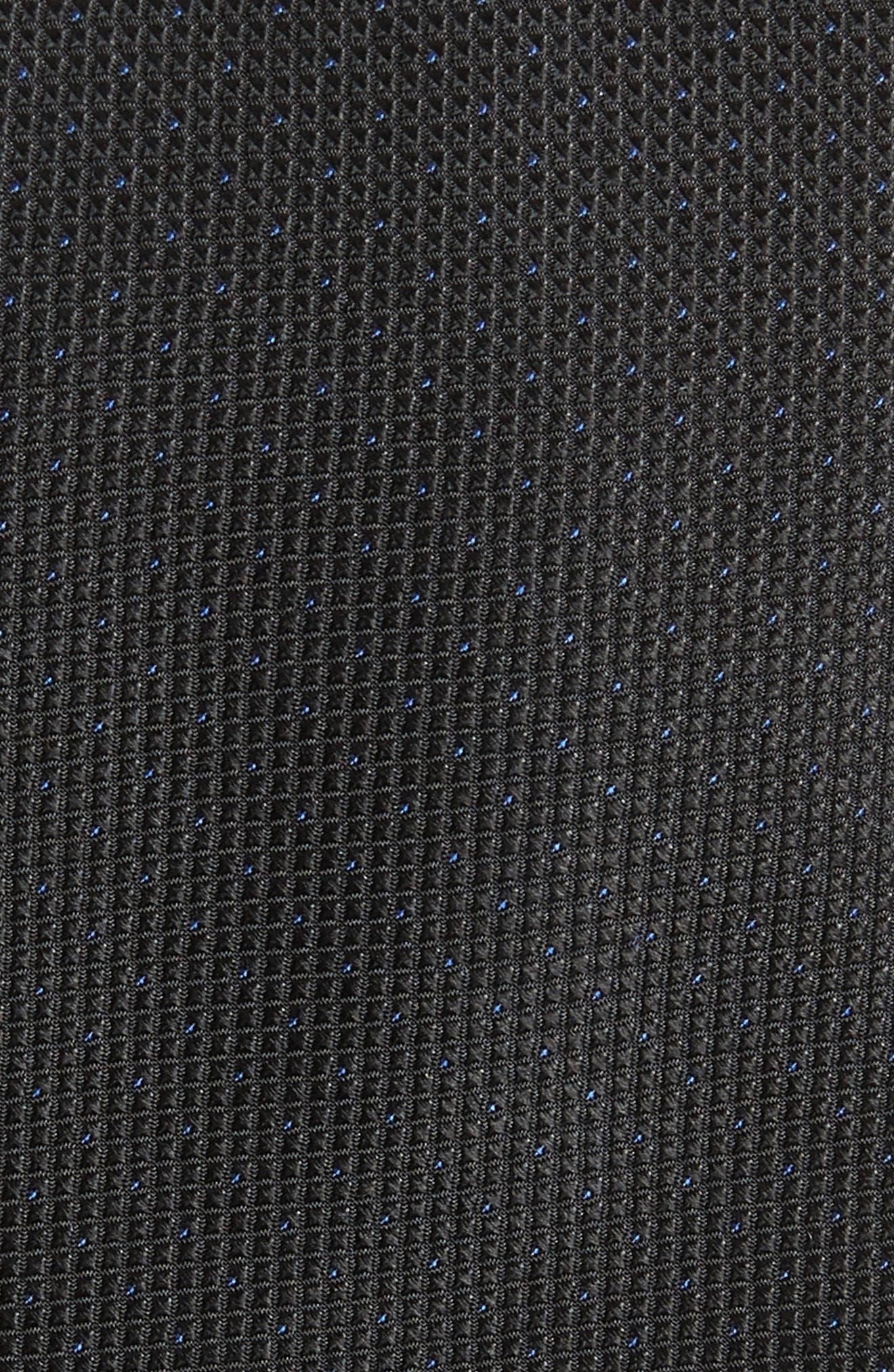 Chauncey Mini Silk Tie,                             Alternate thumbnail 2, color,                             001