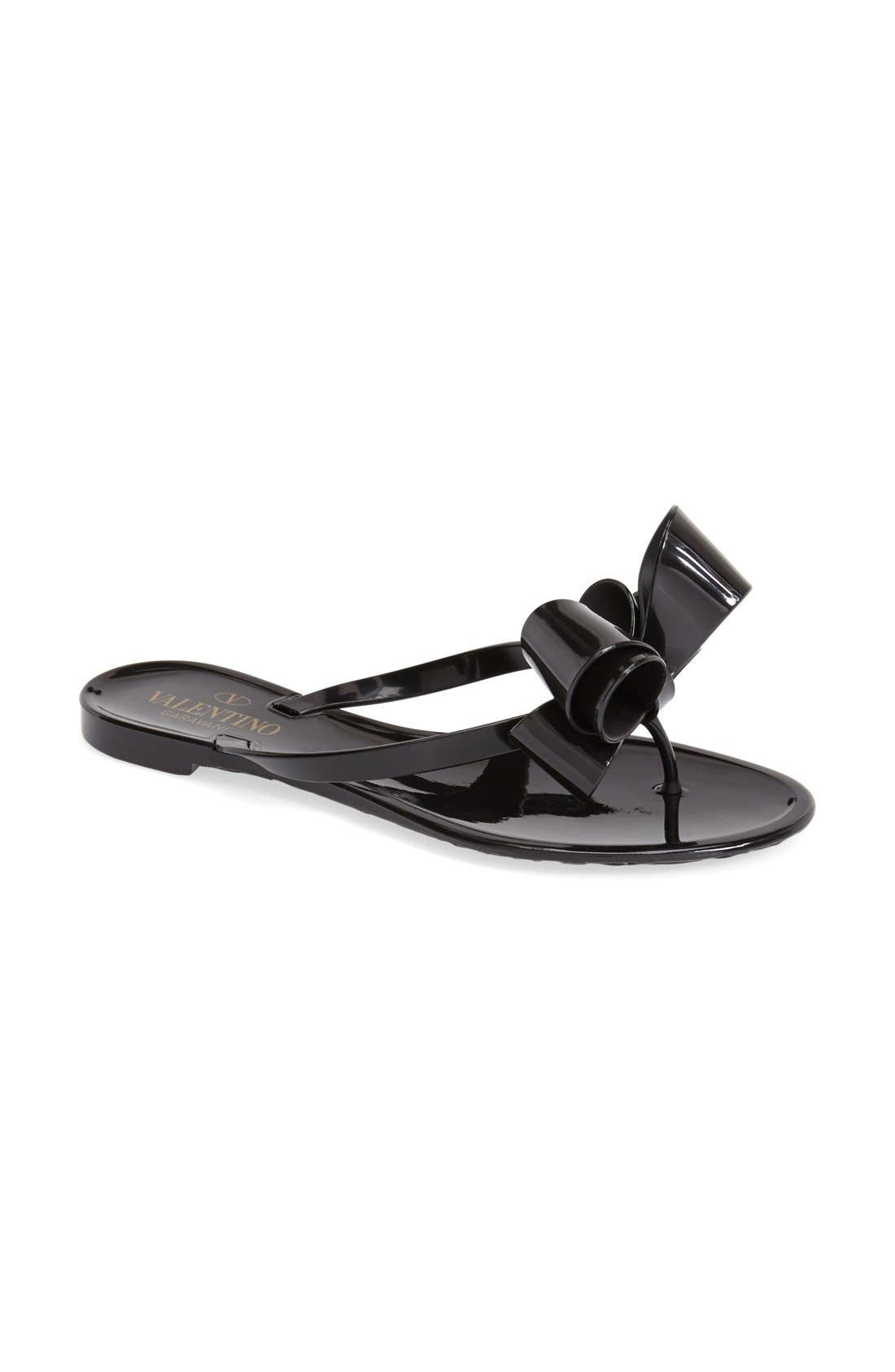 Couture Bow Thong Sandal,                             Alternate thumbnail 11, color,