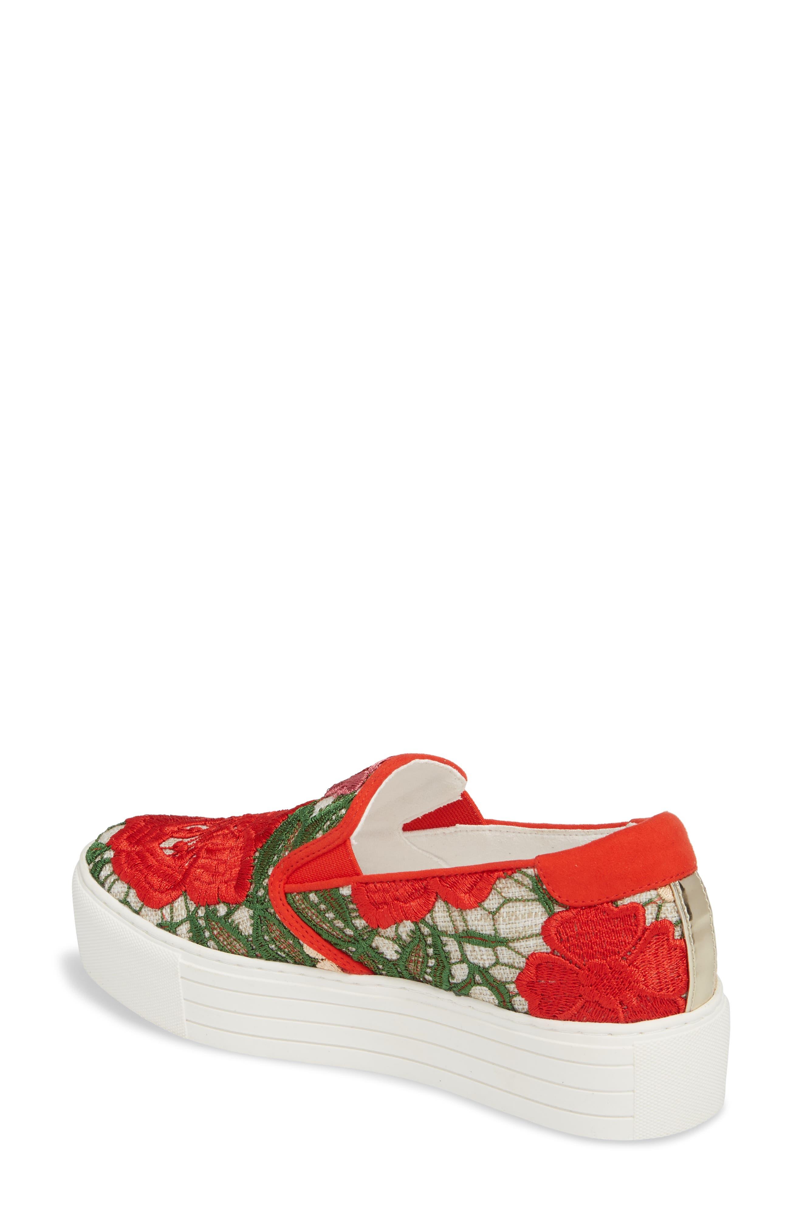 Joanie Slip-On Platform Sneaker,                             Alternate thumbnail 16, color,