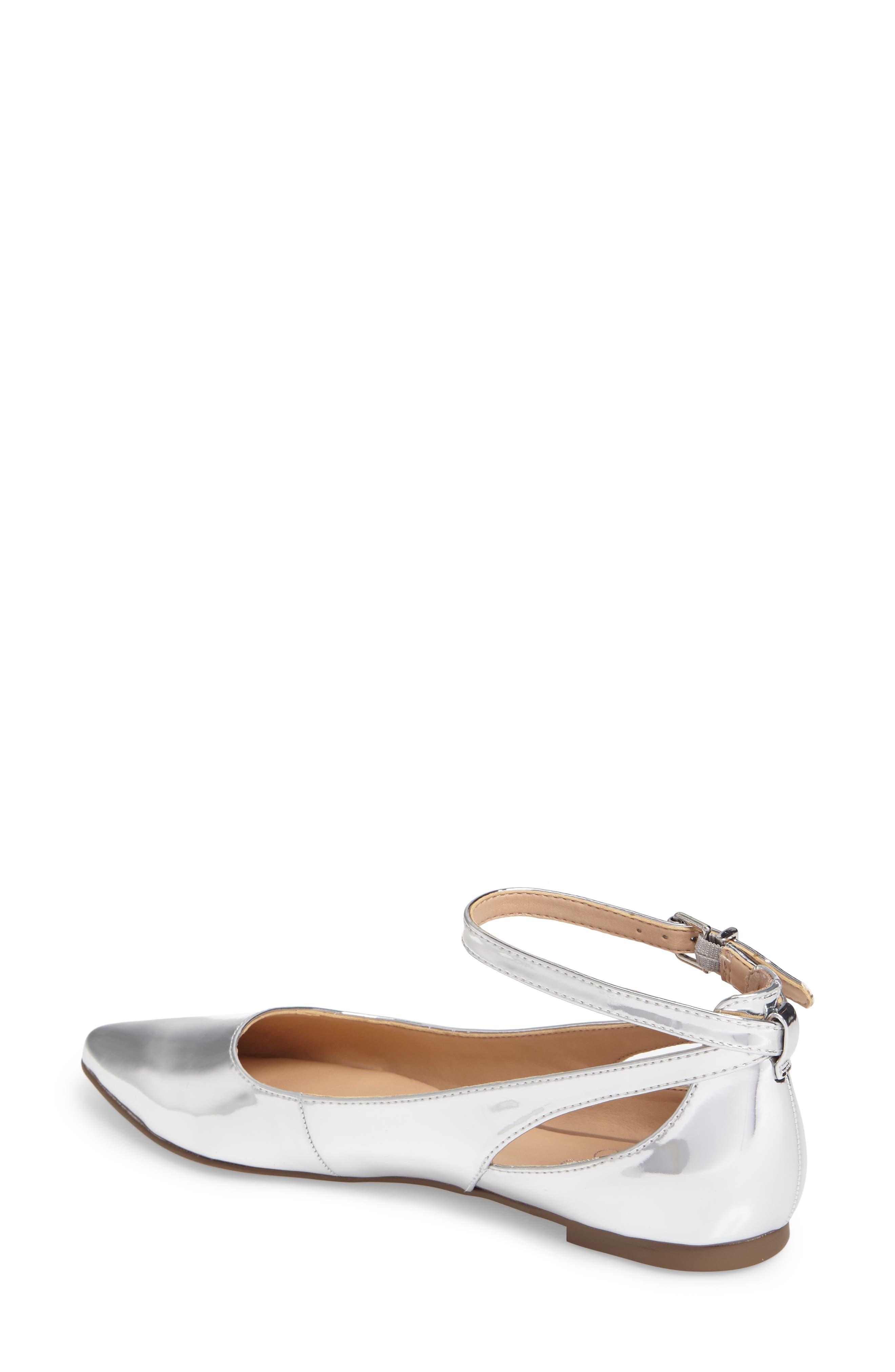 Sylvia Ankle Strap Flat,                             Alternate thumbnail 2, color,                             040