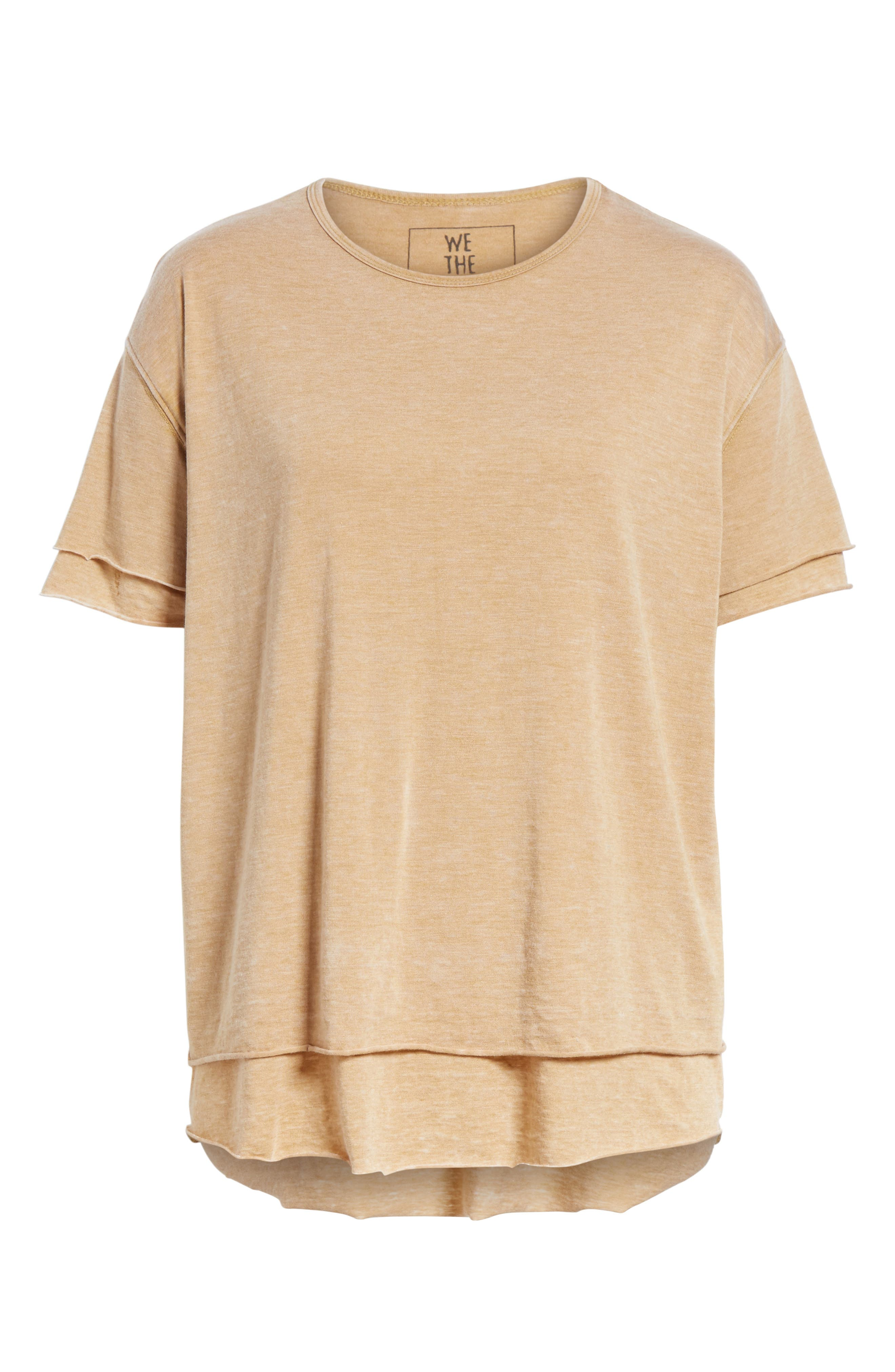 We the Free by Free People Cloud Nine Tee,                             Alternate thumbnail 33, color,