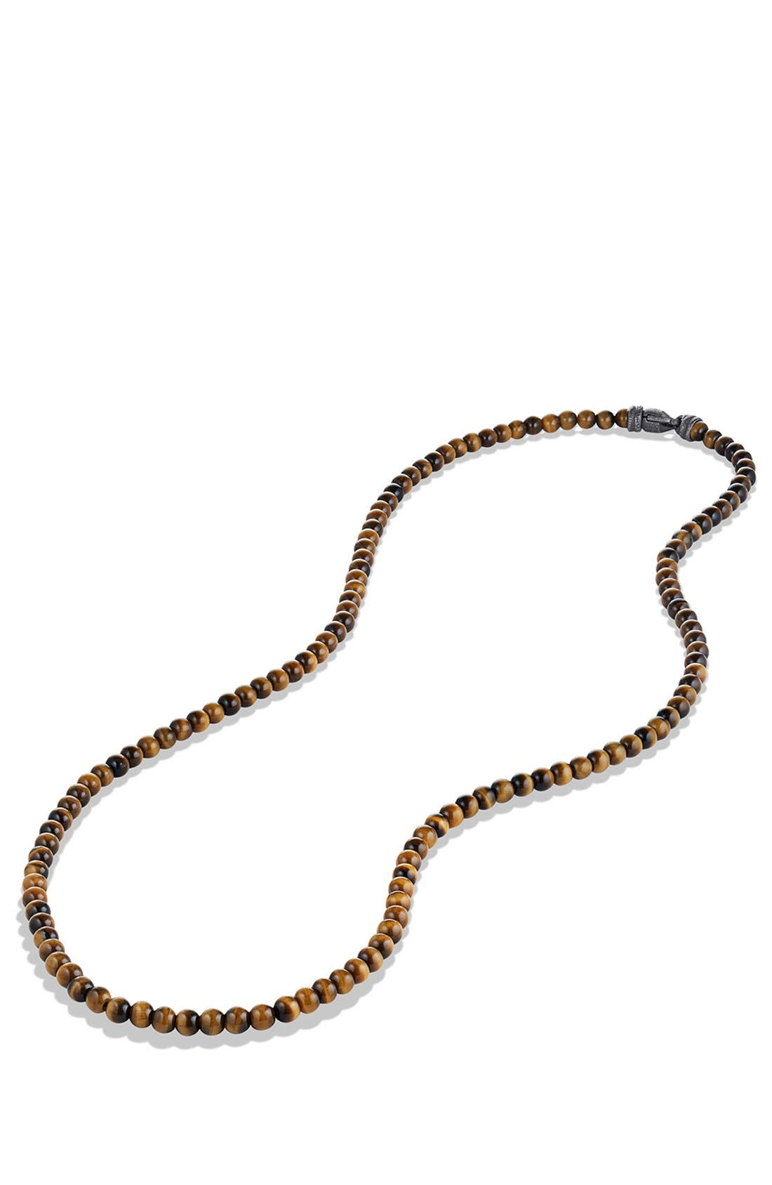 'Spiritual Beads' Necklace with Stone,                             Alternate thumbnail 2, color,                             TIGER EYE