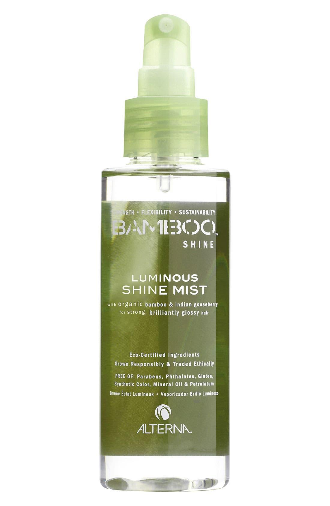 Bamboo Shine Luminous Shine Mist,                             Main thumbnail 1, color,                             000
