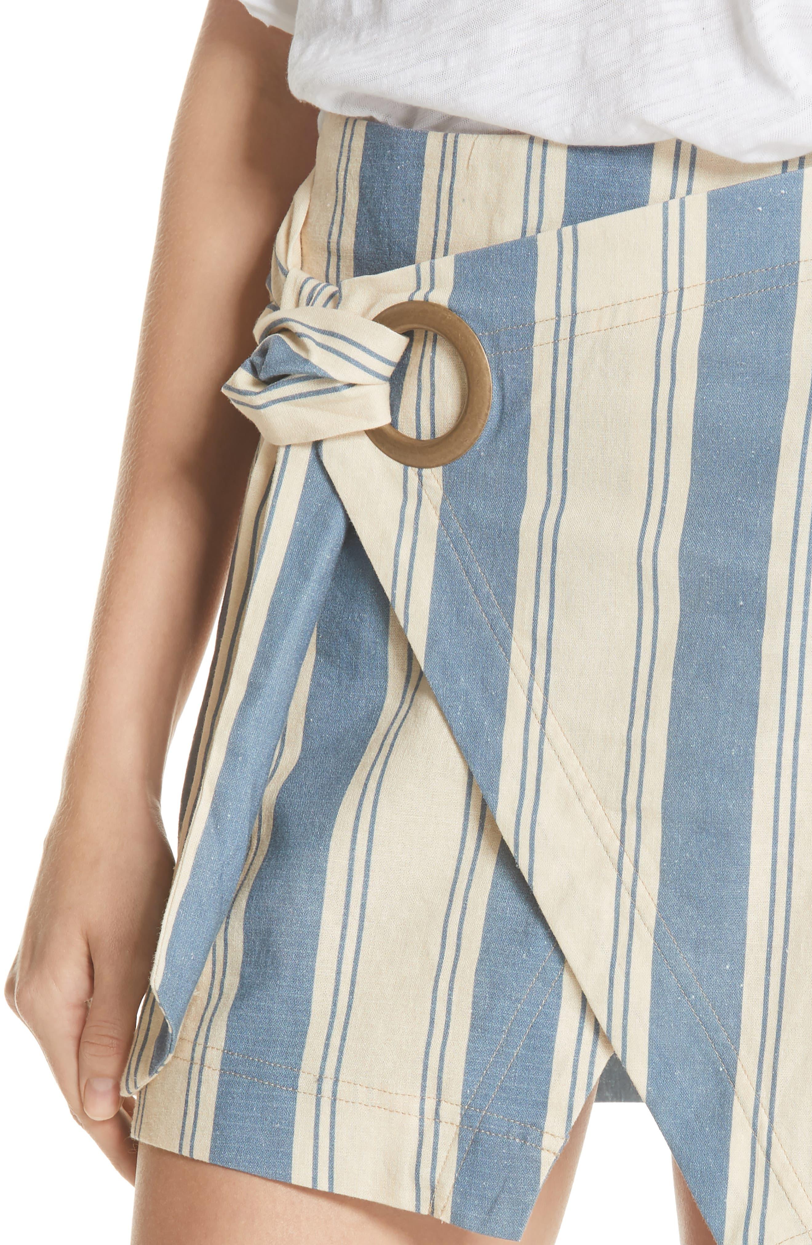 Tuscan Sunrise Skirt,                             Alternate thumbnail 4, color,                             400
