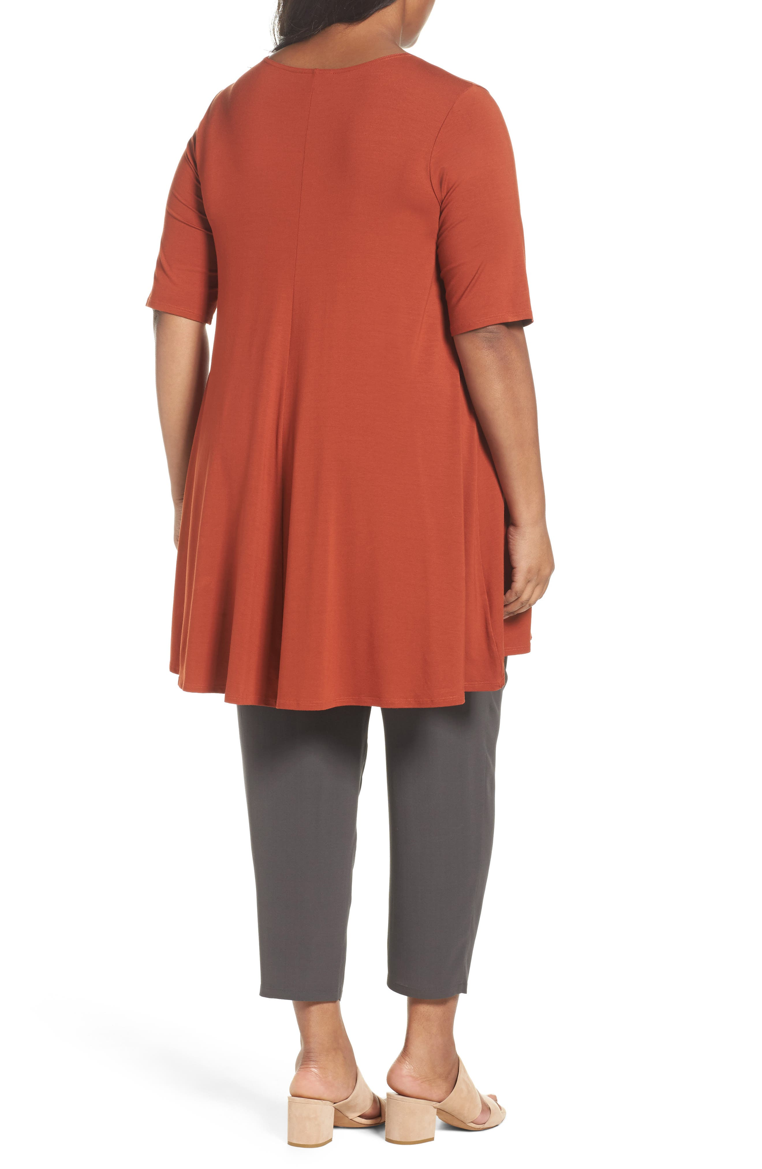 Jersey Tunic,                             Alternate thumbnail 8, color,