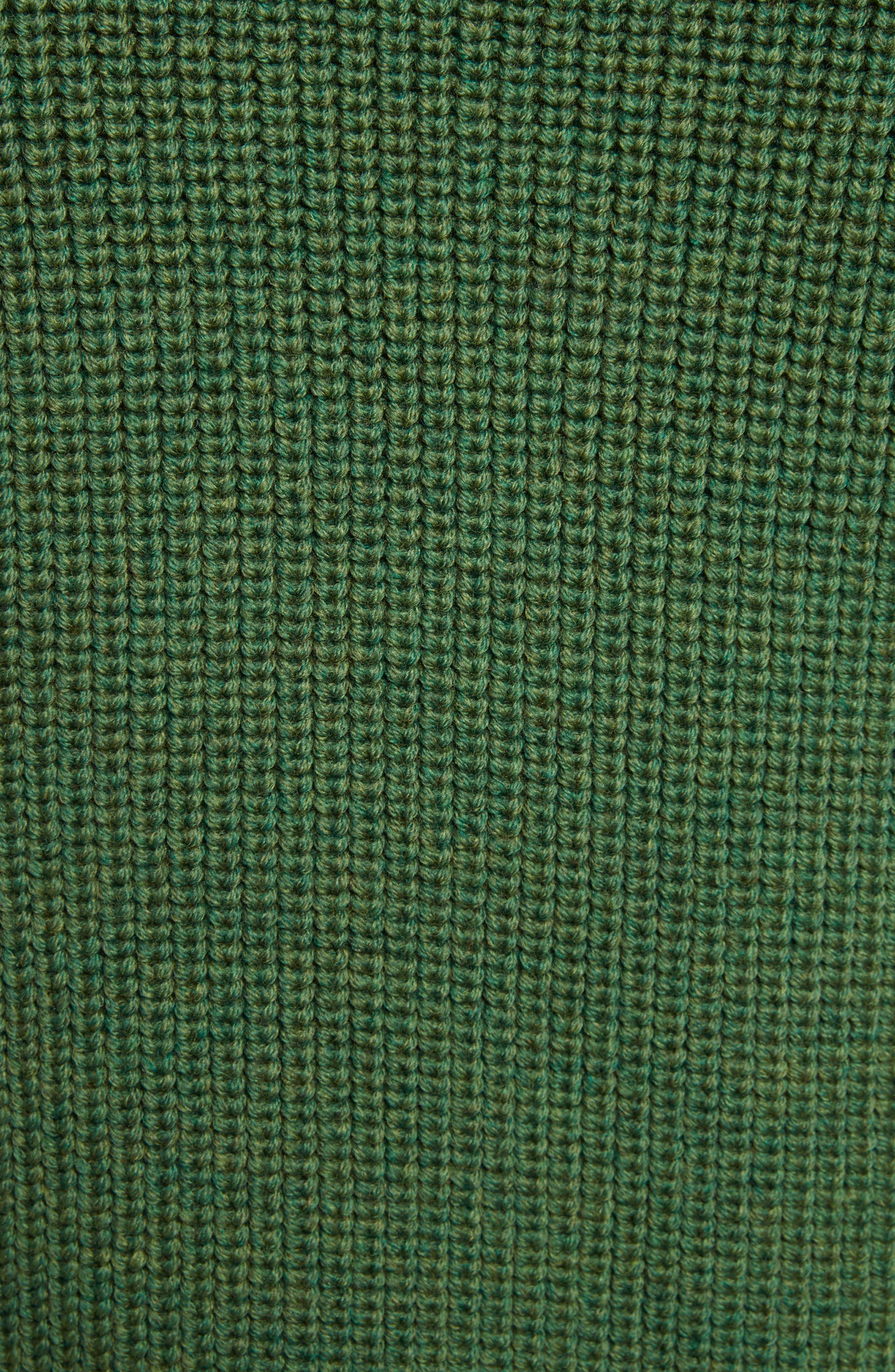 Ruffle Wool Sweater,                             Alternate thumbnail 5, color,                             300