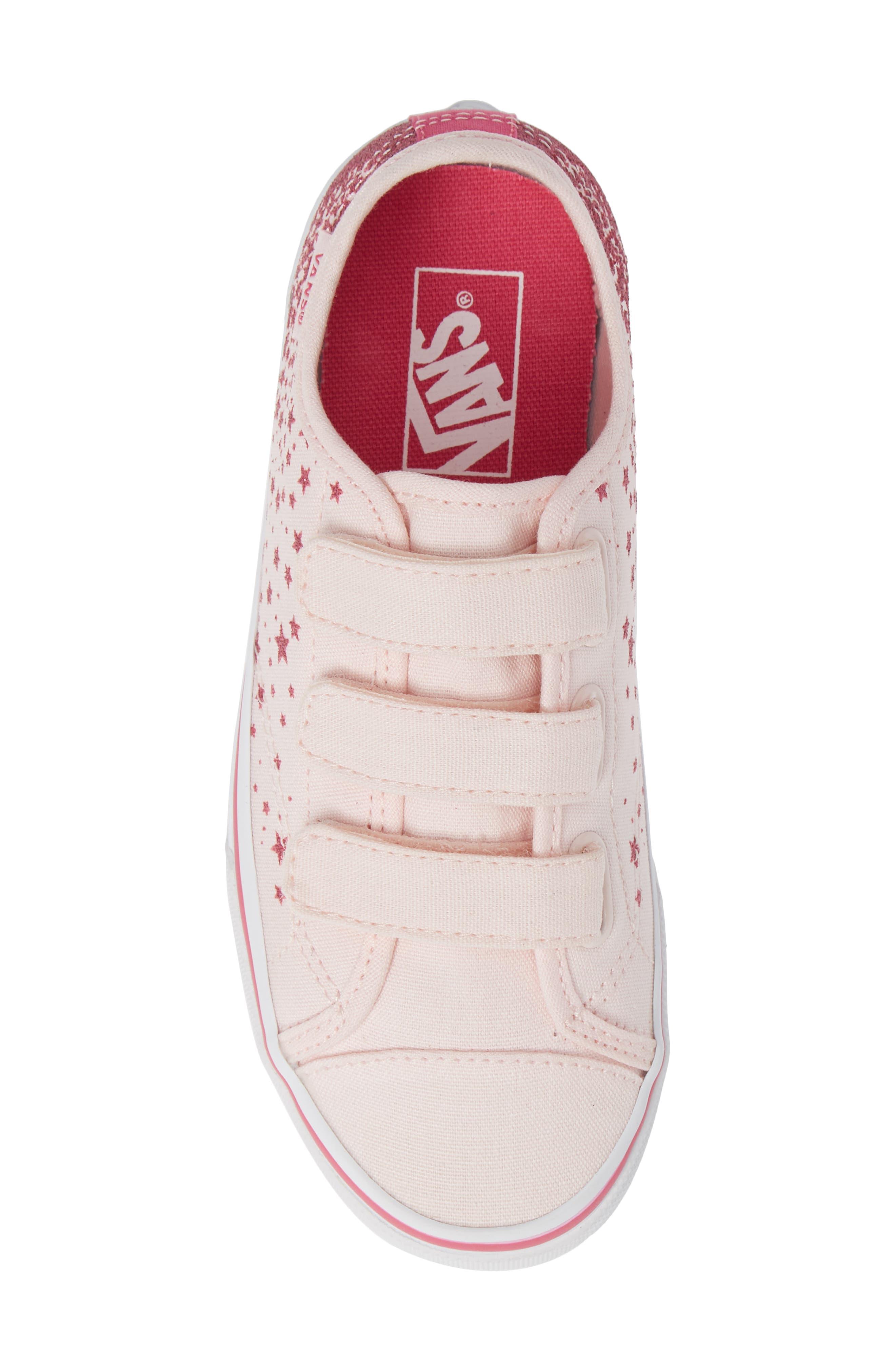 Style 23 V Glitter Sneaker,                             Alternate thumbnail 5, color,                             680