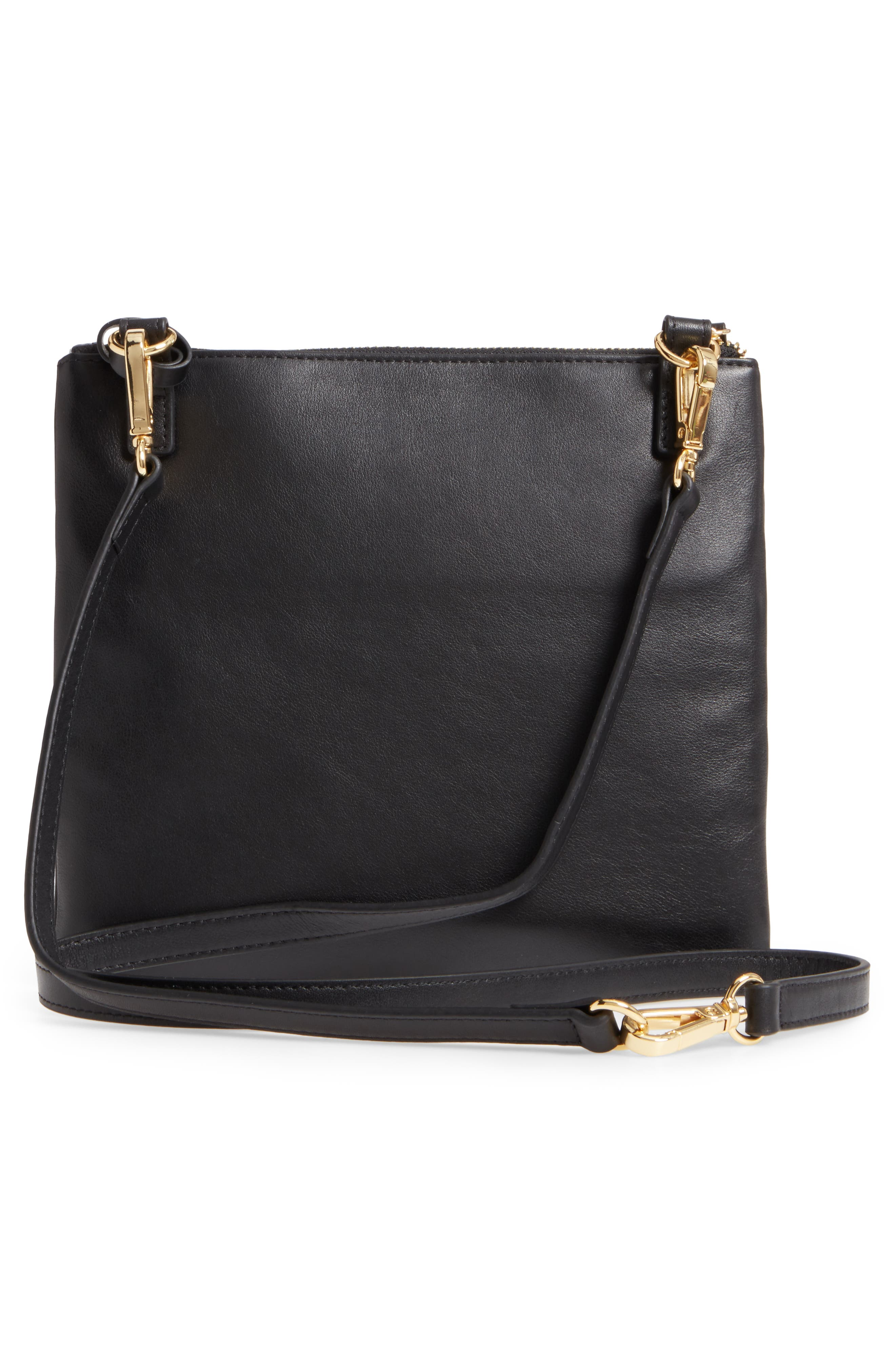 Downtown Latisha RFID Leather Crossbody,                             Alternate thumbnail 10, color,