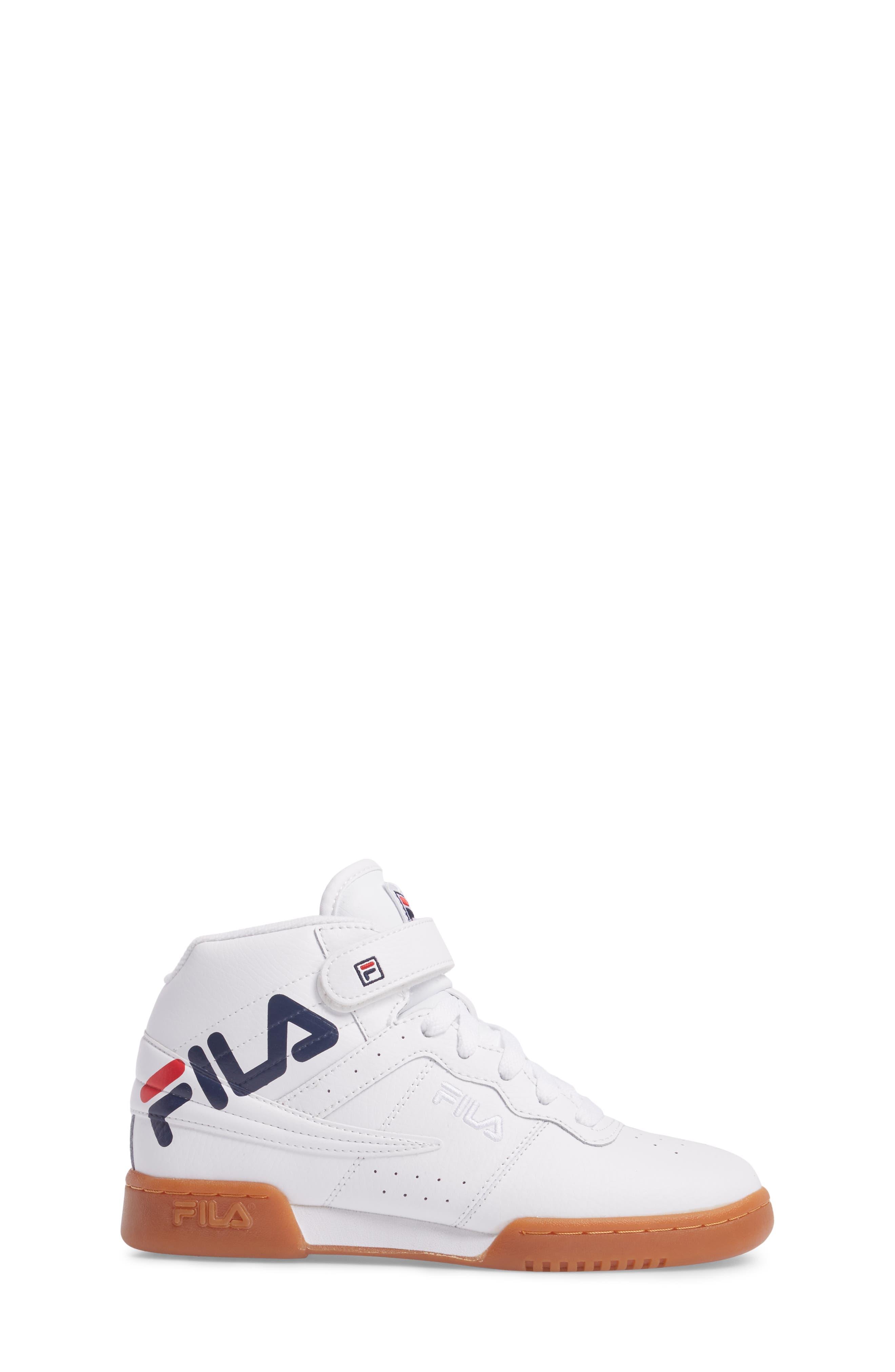 Original Fitness Logo Mid Top Sneaker,                             Alternate thumbnail 3, color,                             125