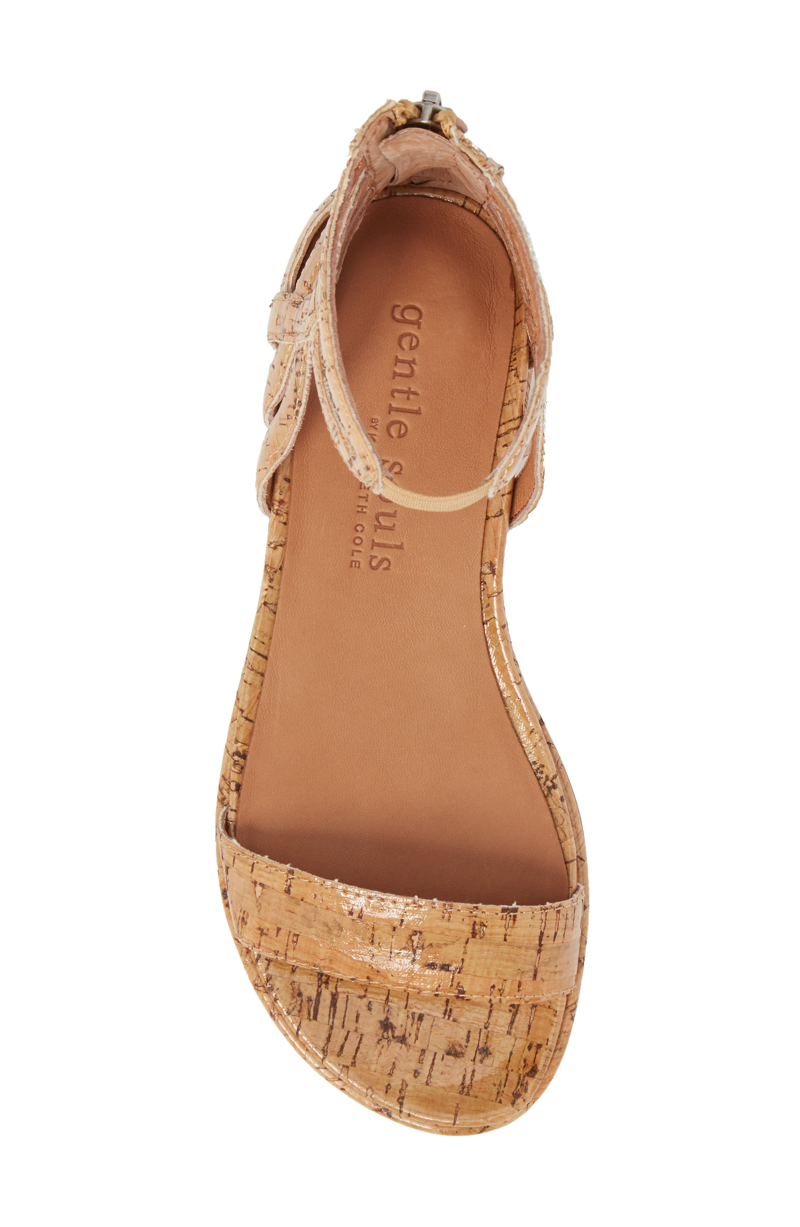 by Kenneth Cole Larissa Sandal,                             Alternate thumbnail 5, color,                             NATURAL