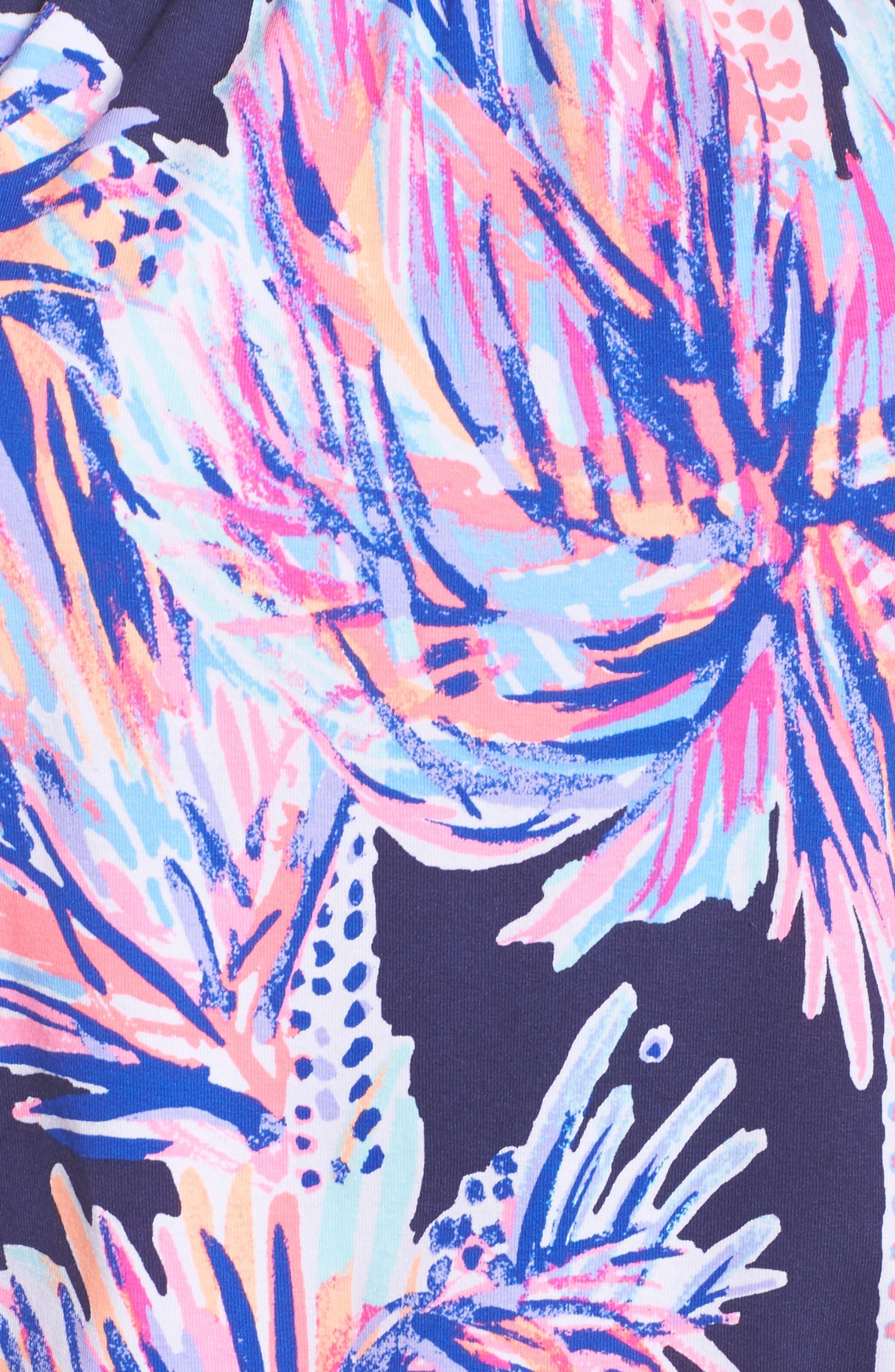 Lana Off the Shoulder Romper,                             Alternate thumbnail 5, color,