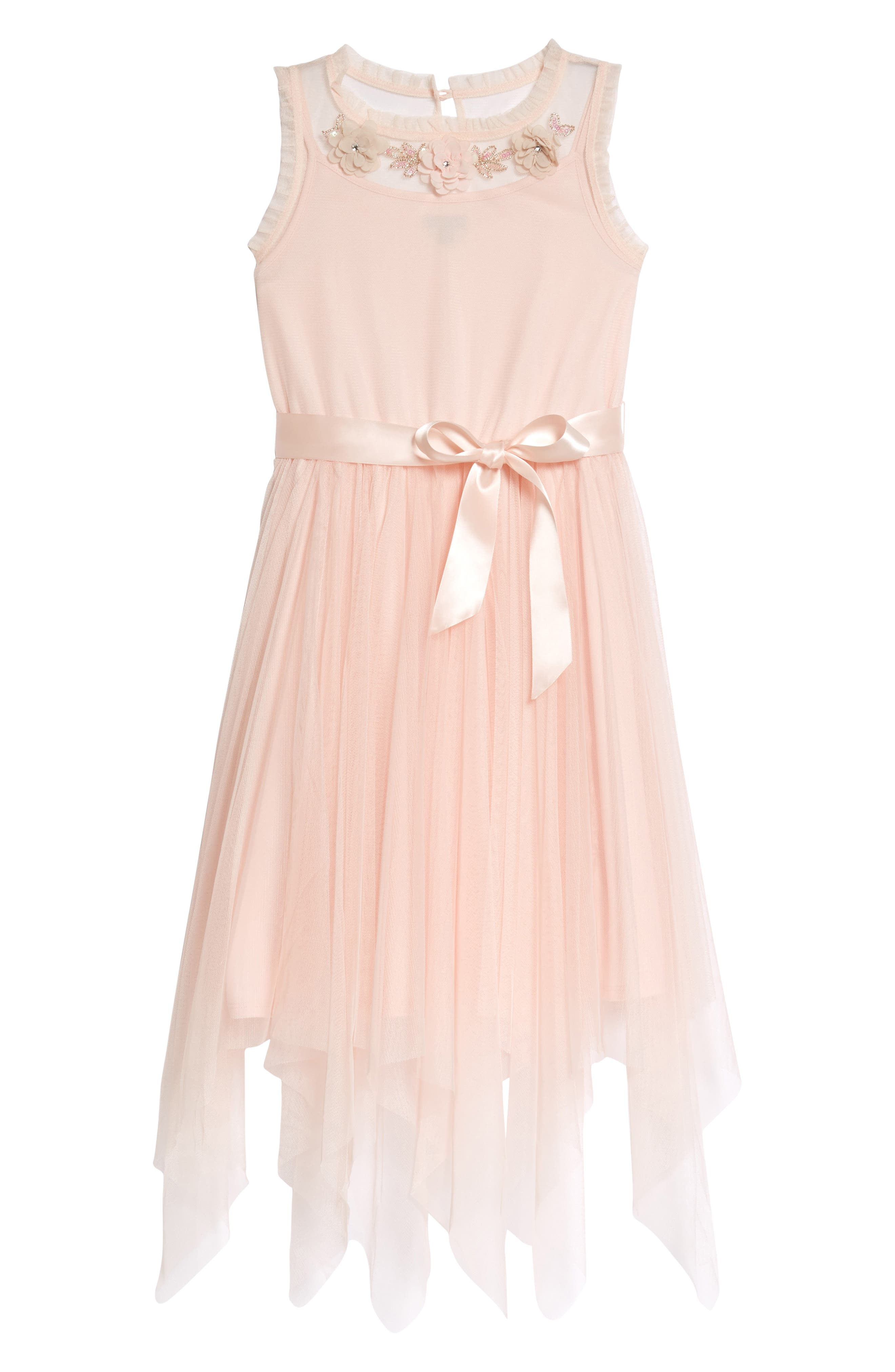 Embroidered Ballerina Dress,                             Main thumbnail 1, color,                             686