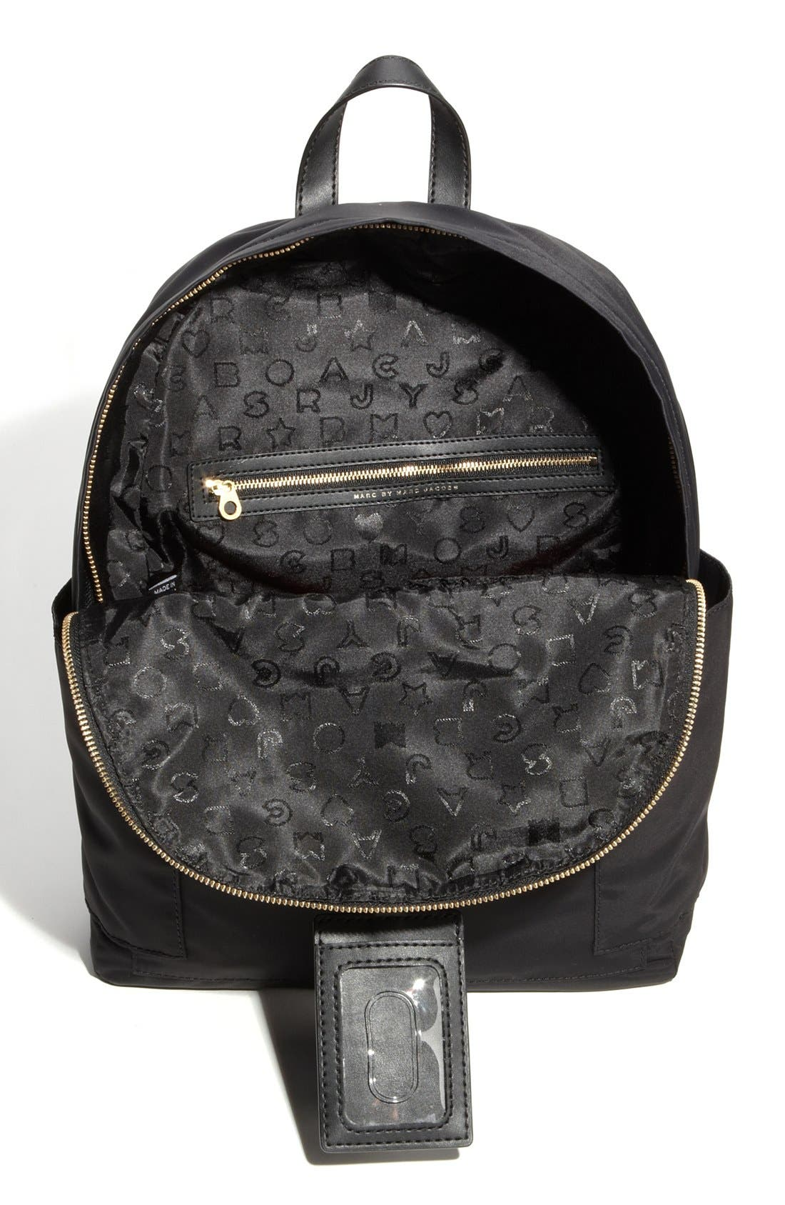 MARC JACOBS,                             MARC BY MARC JACOBS 'Preppy Nylon' Backpack,                             Alternate thumbnail 2, color,                             002