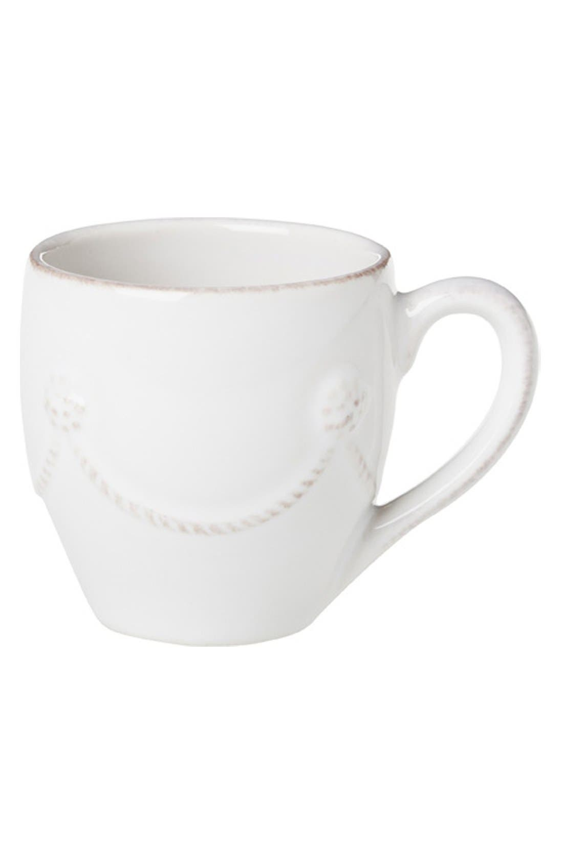 'Berry and Thread' Ceramic Demitasse Coffee Mug,                             Main thumbnail 1, color,                             100