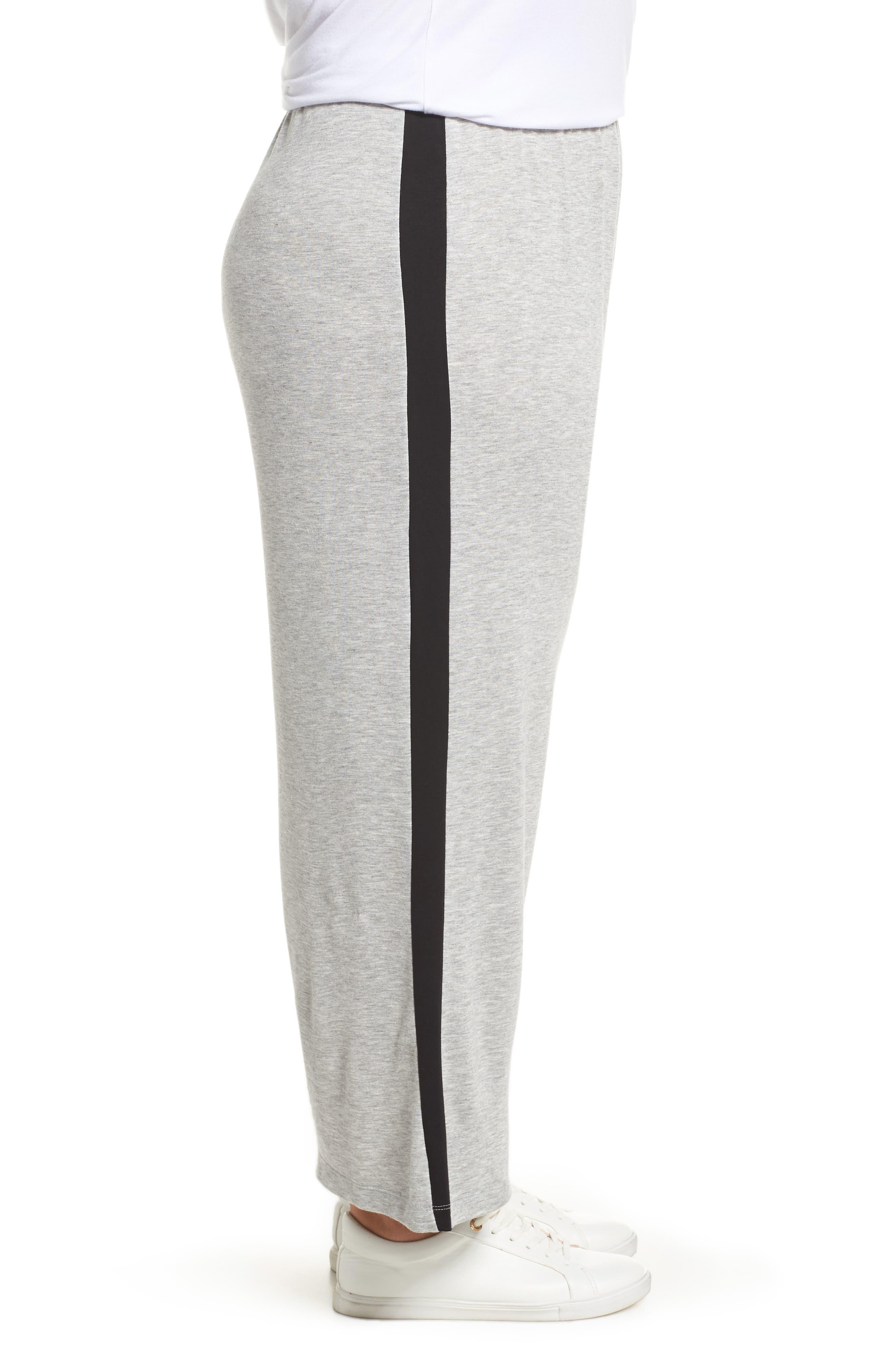 BP.,                             Sport High Rise Wide Leg Crop Pants,                             Alternate thumbnail 3, color,                             021