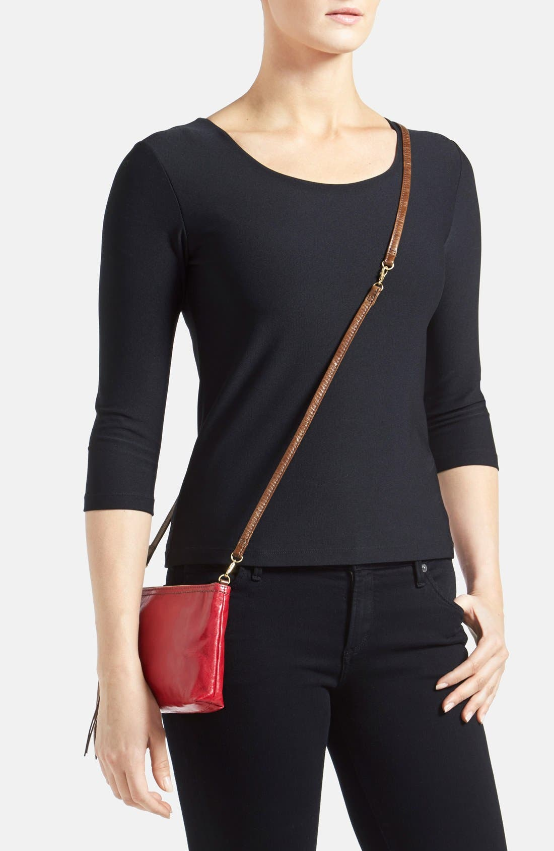 'Darcy' Leather Crossbody Bag,                             Alternate thumbnail 67, color,