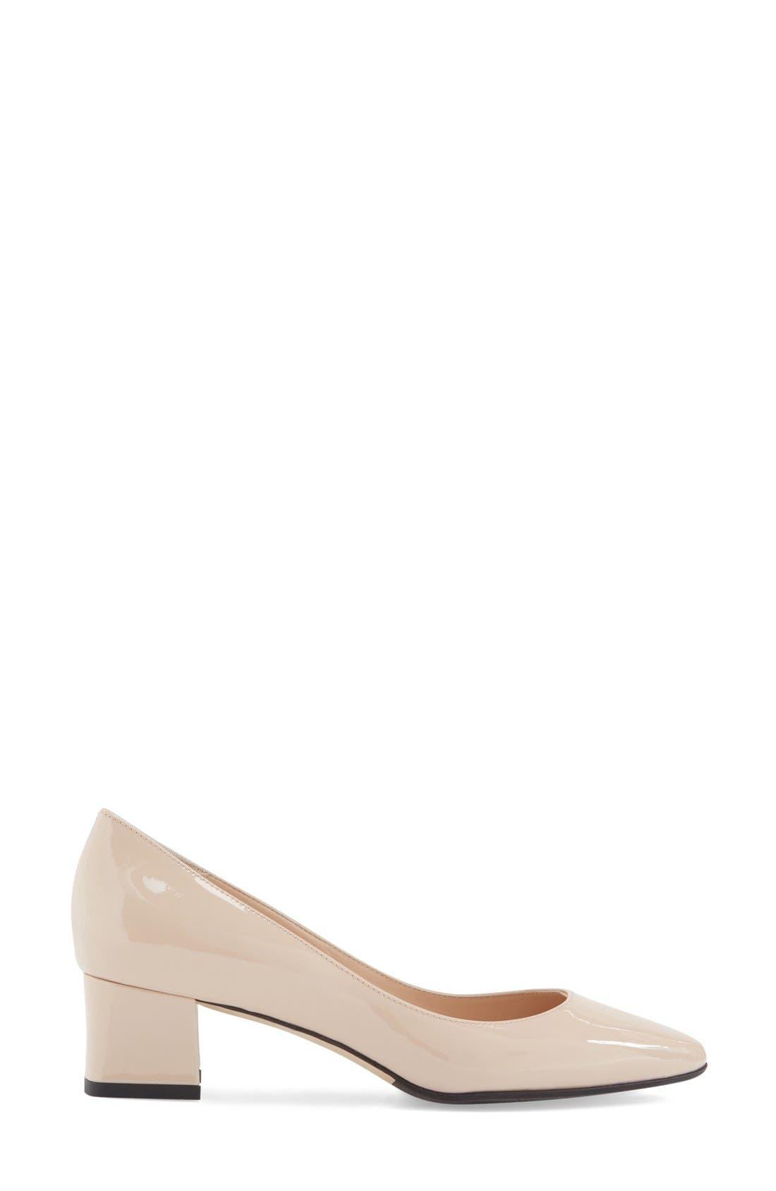 'Pheobe' Weatherproof Almond Toe Pump,                             Alternate thumbnail 65, color,