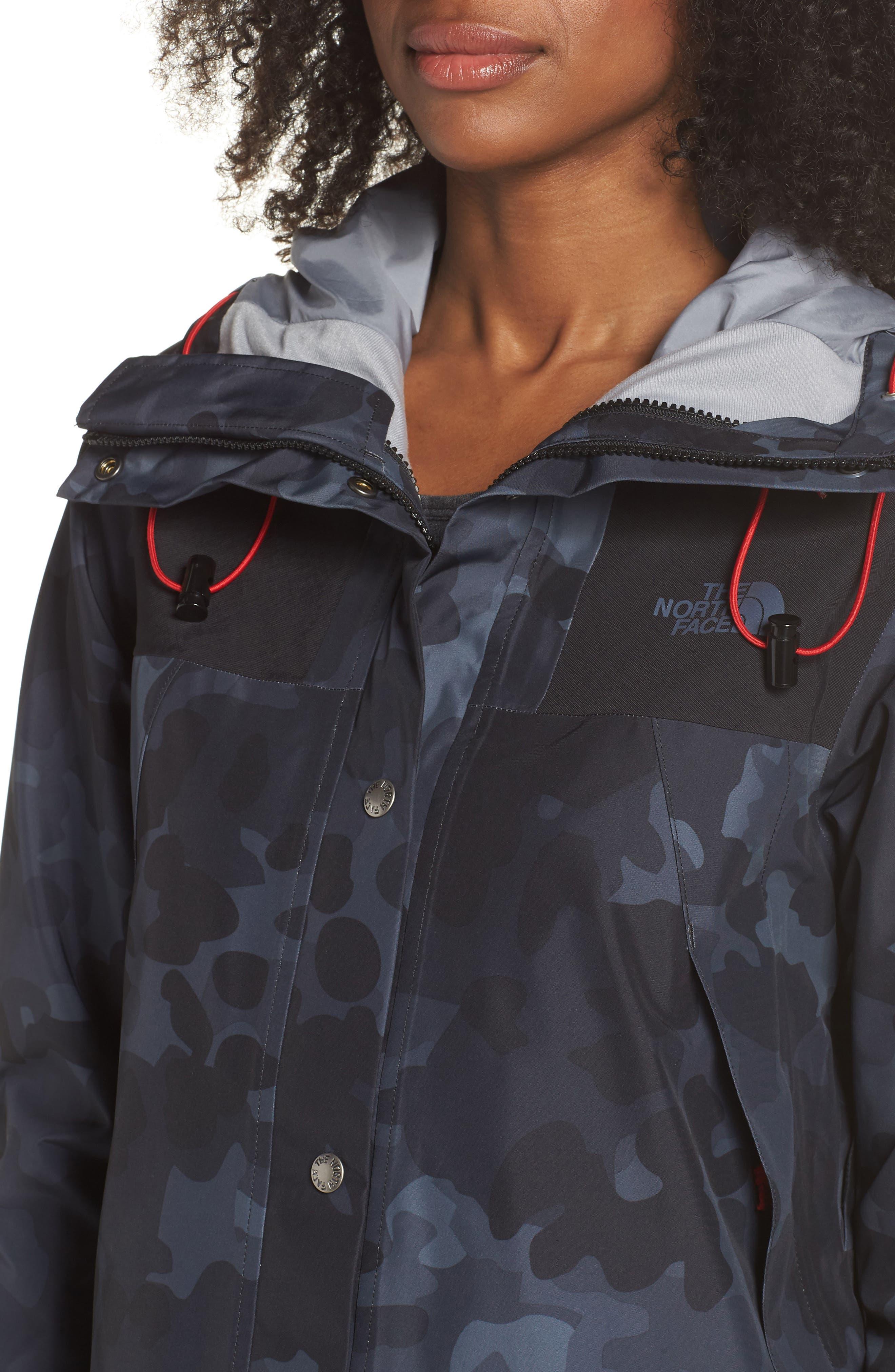 1990 Mountain Gore-Tex<sup>®</sup> Waterproof Jacket,                             Alternate thumbnail 4, color,                             TNF BLACK MACROFLECK PRINT