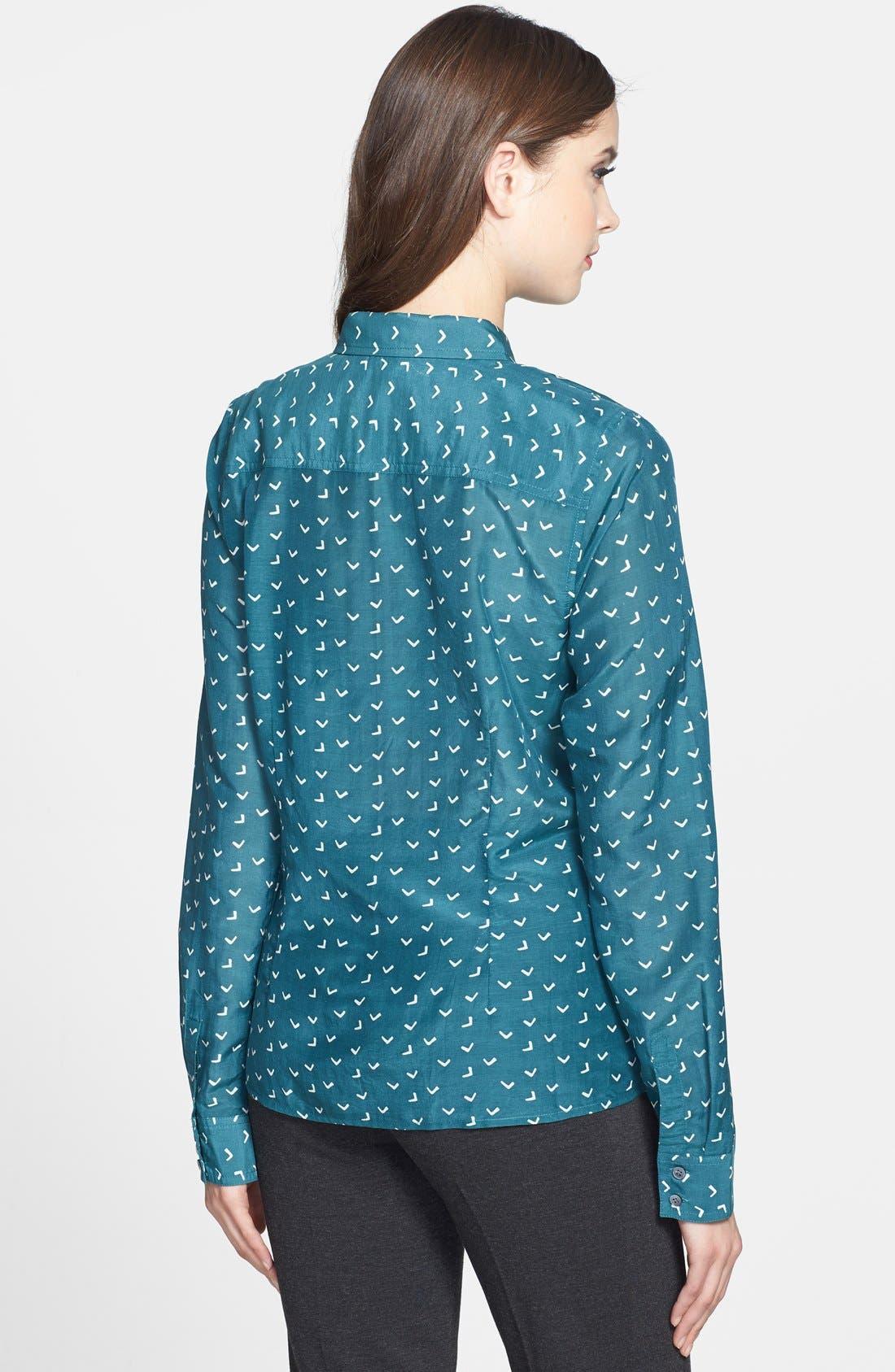 Cotton & Silk Shirt,                             Alternate thumbnail 151, color,